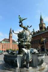 Dragon fountain - Copenhagen - Denmark