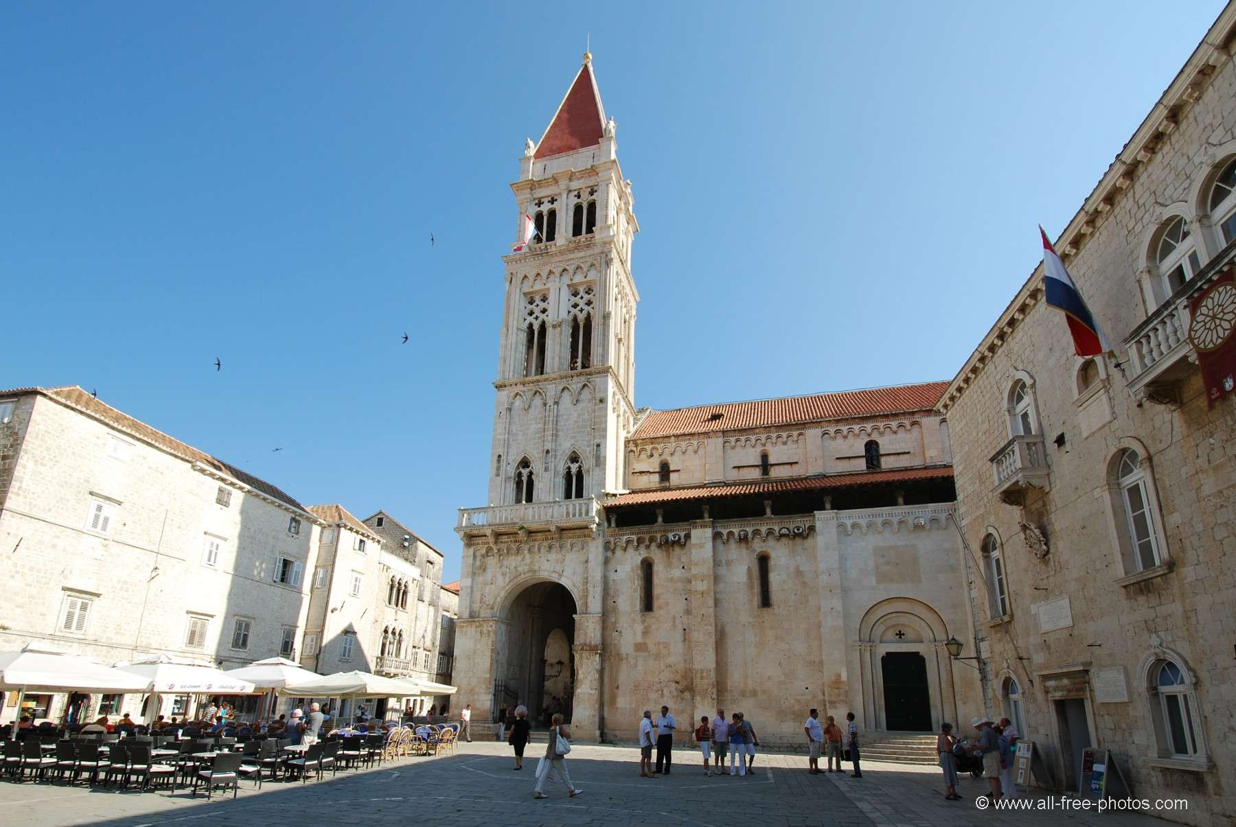 Cathédrale Saint Laurent - Trogir - Croatie