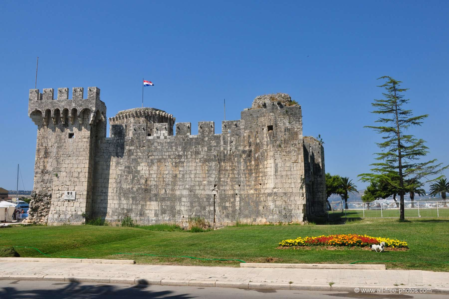 Fortress of Kamerlengo - Trogir - Croatia