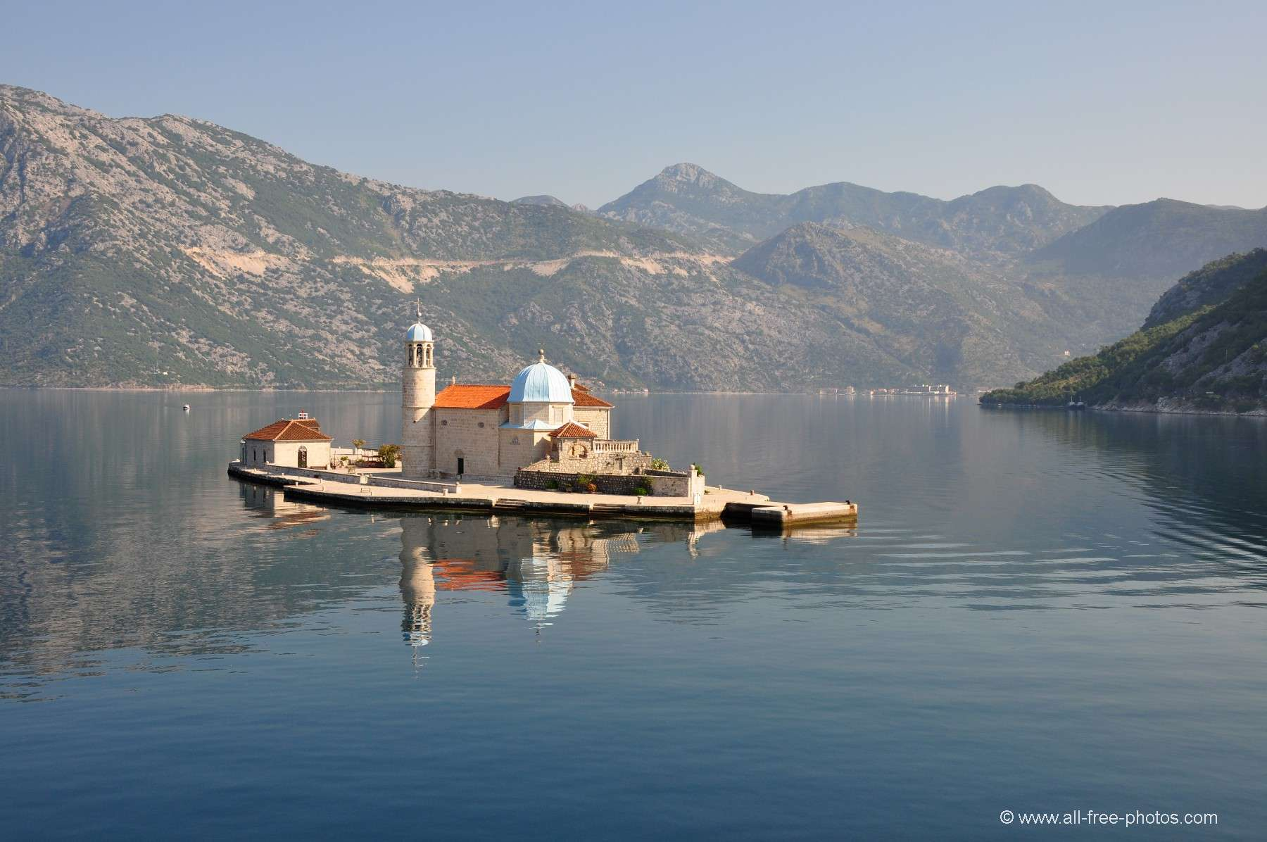 Our-Lady-of-the-Reef Church - Gulf of Kotor - Montenegro