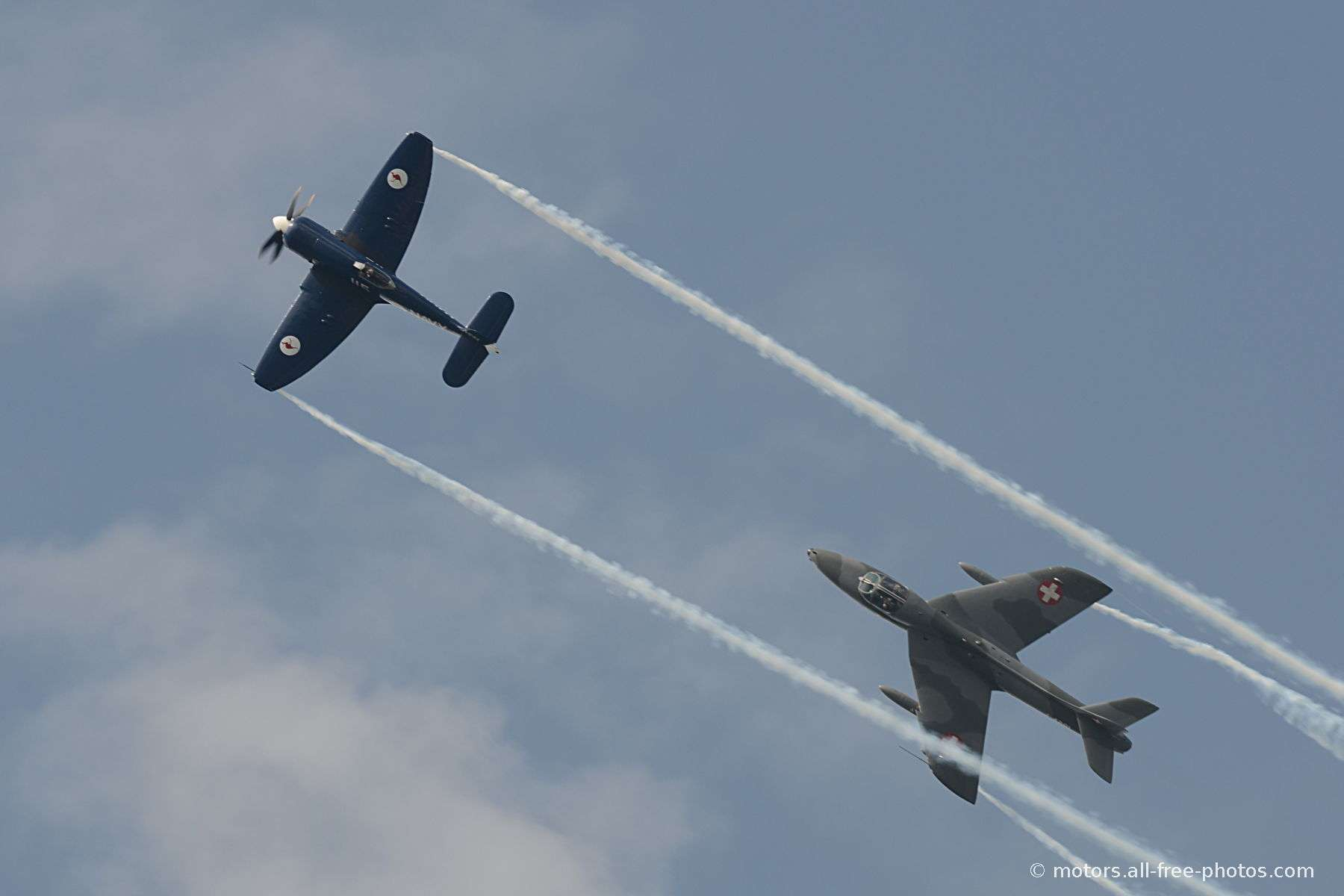 Hawker Sea Fury & Hawker Hunter