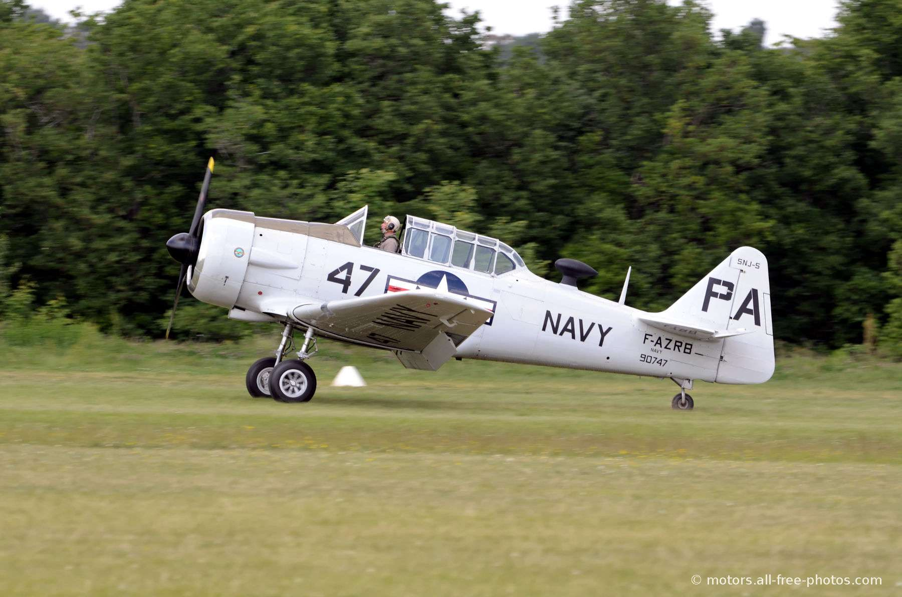 North American SNJ-5F