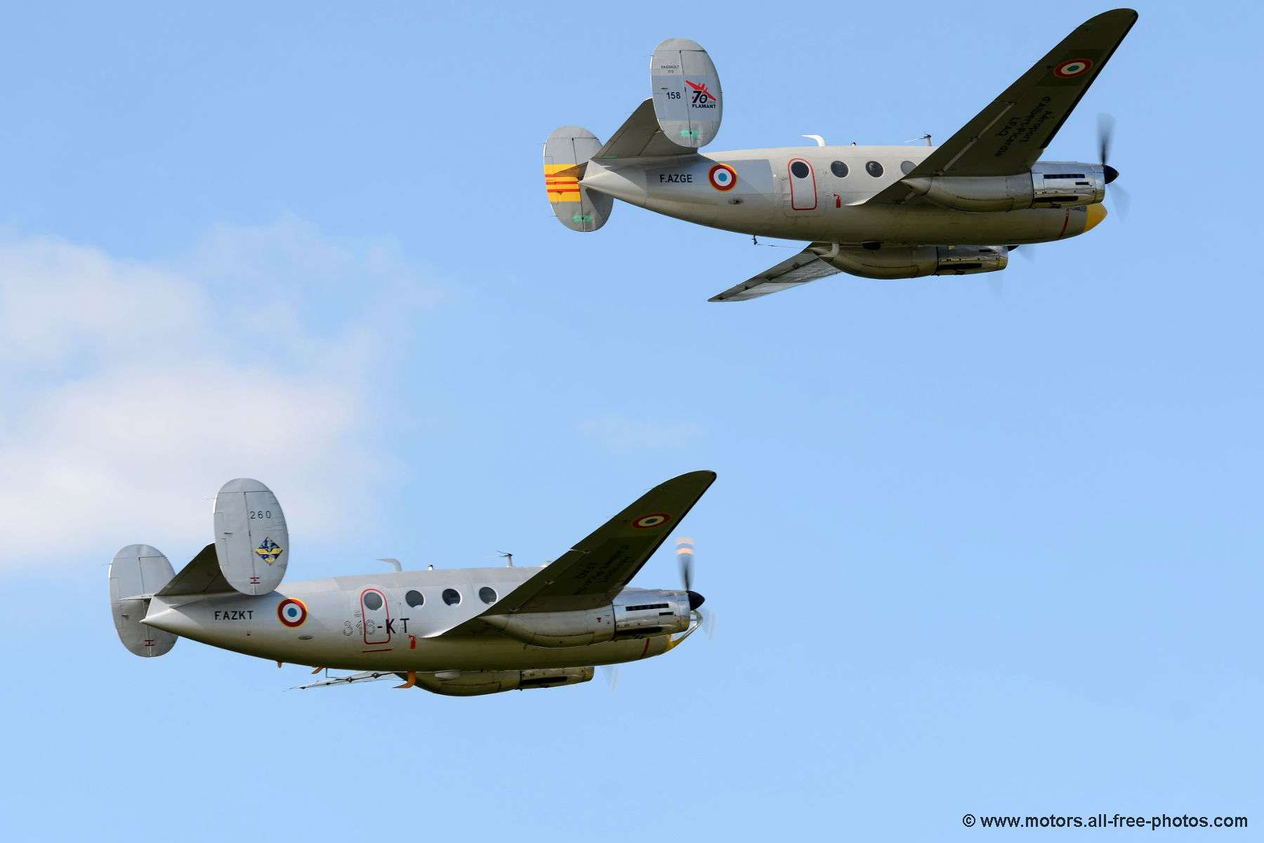 Dassault MD-311 & MD-312 Flamant