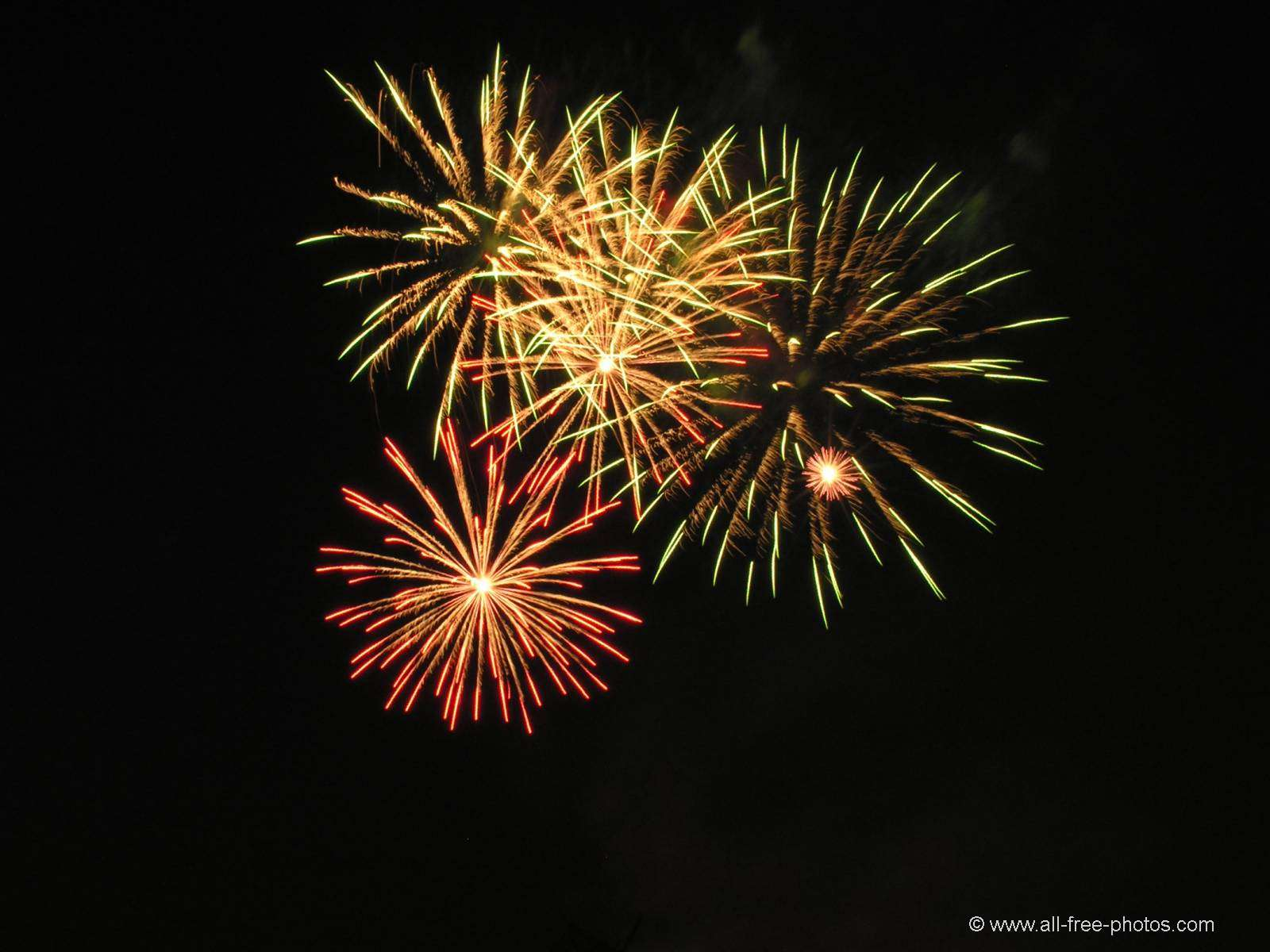 Foto: Fuegos Artificiales