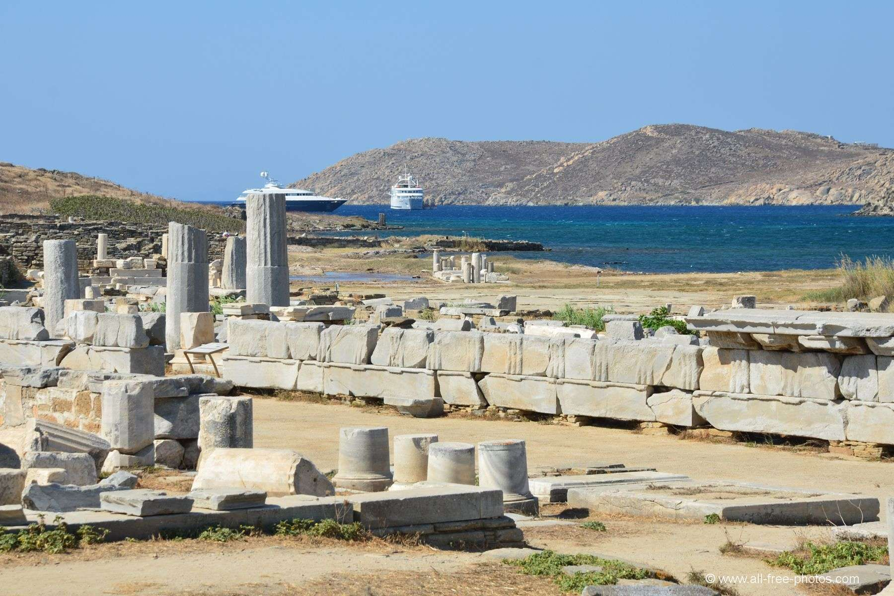 Delos Island - Greece