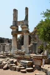 Temple of Domitian - Ephesus - Turkey