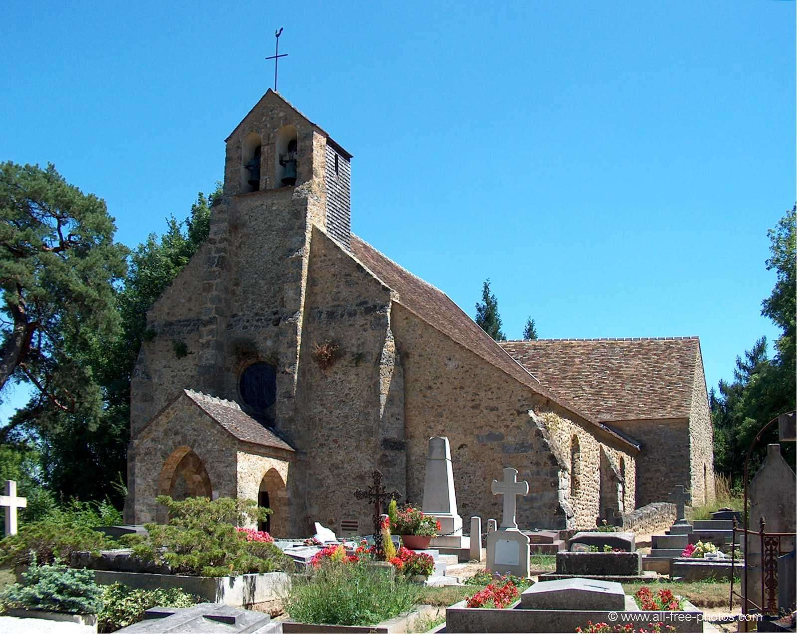 Church of Saint Lambert des Bois - France
