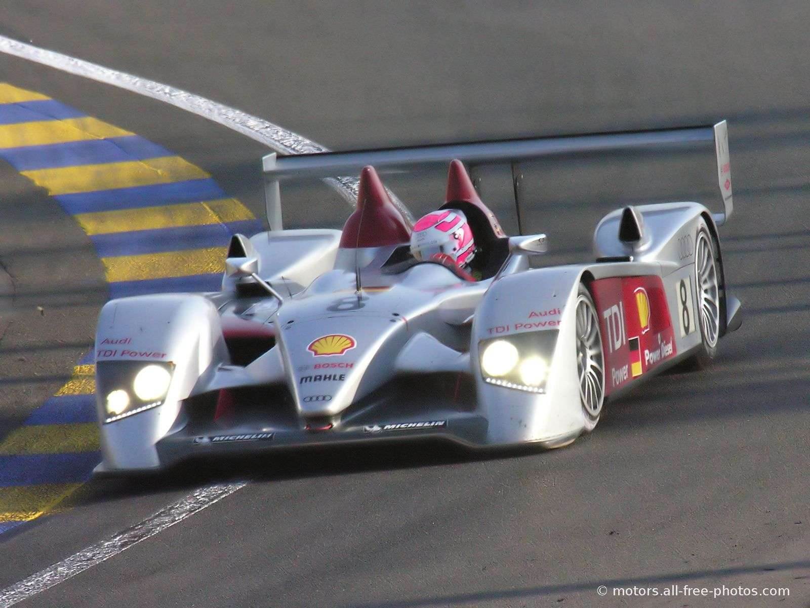 Audi R10 TDI - Wins the 24 h of Le Mans 2006