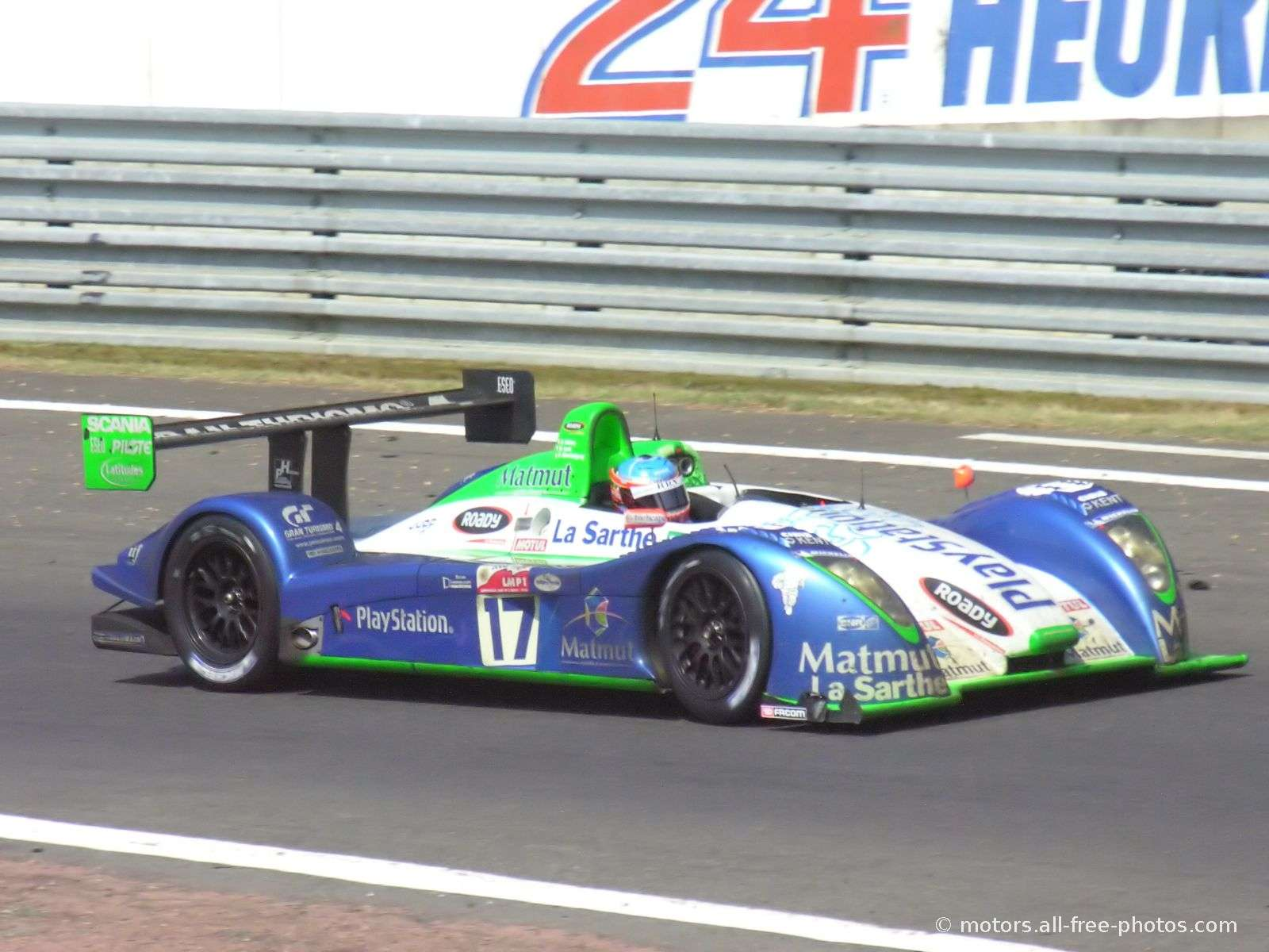 Pescarolo-Judd C60 - Second at the 24 h of Le Mans 2006