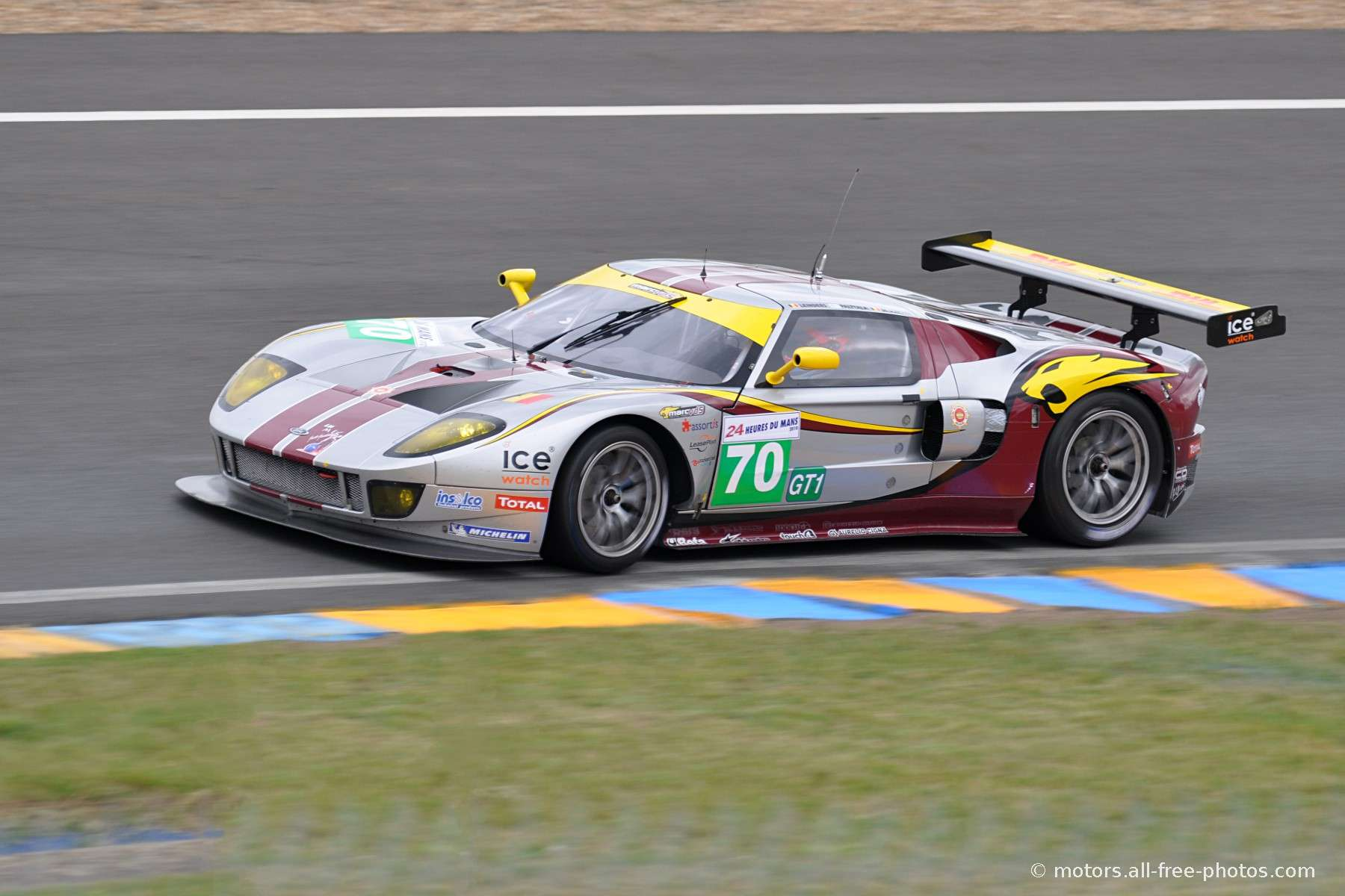 Ford GT - Team Marc VDS Racing Team