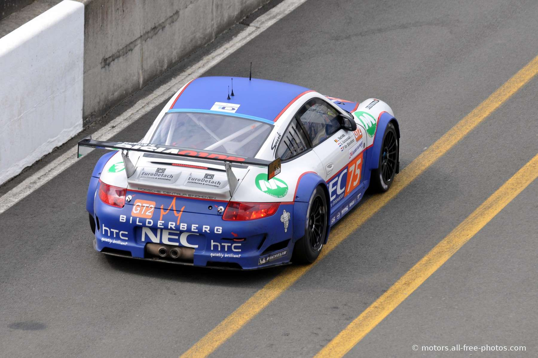 Porsche 997 GT3 RSR - Team Prospeed Competition