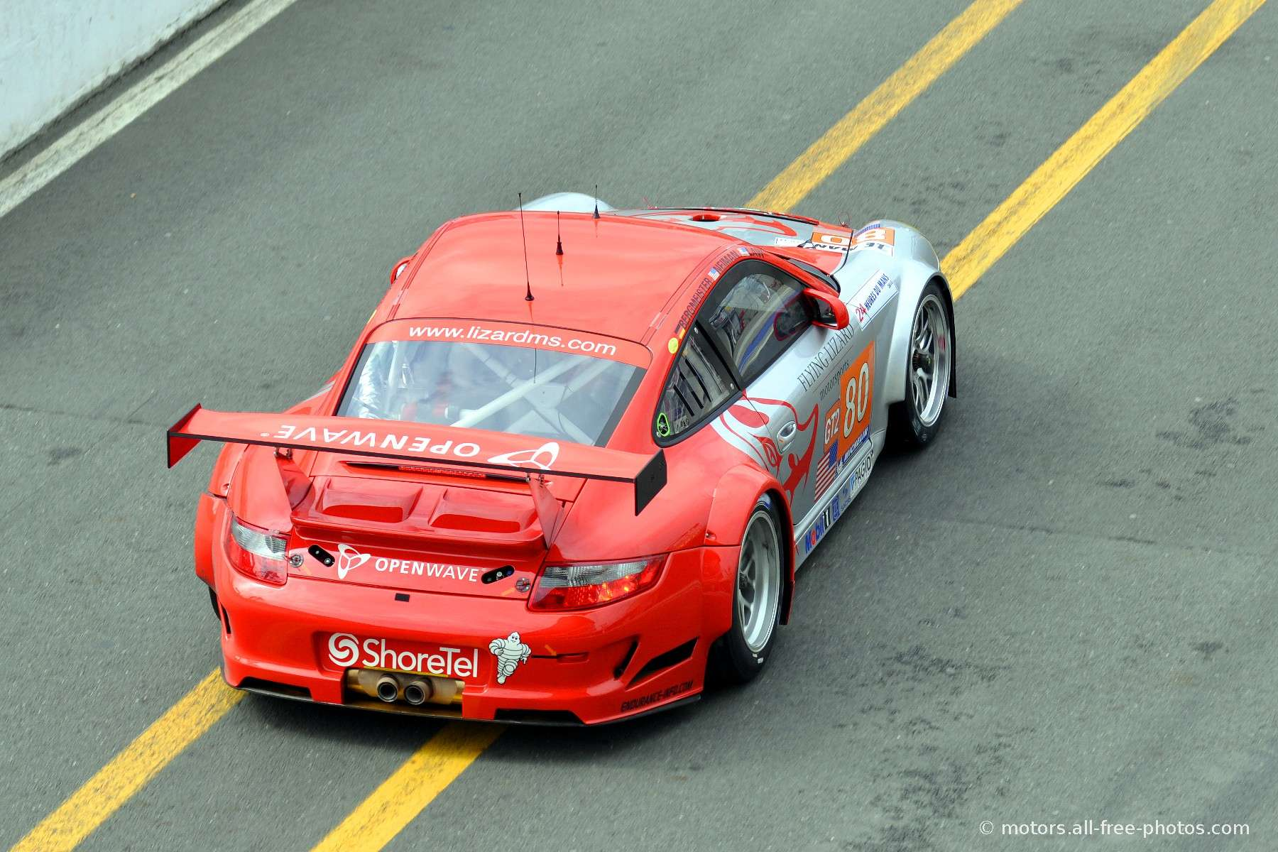Porsche 997 GT3 RSR - Team Flying Lizard Motorsports