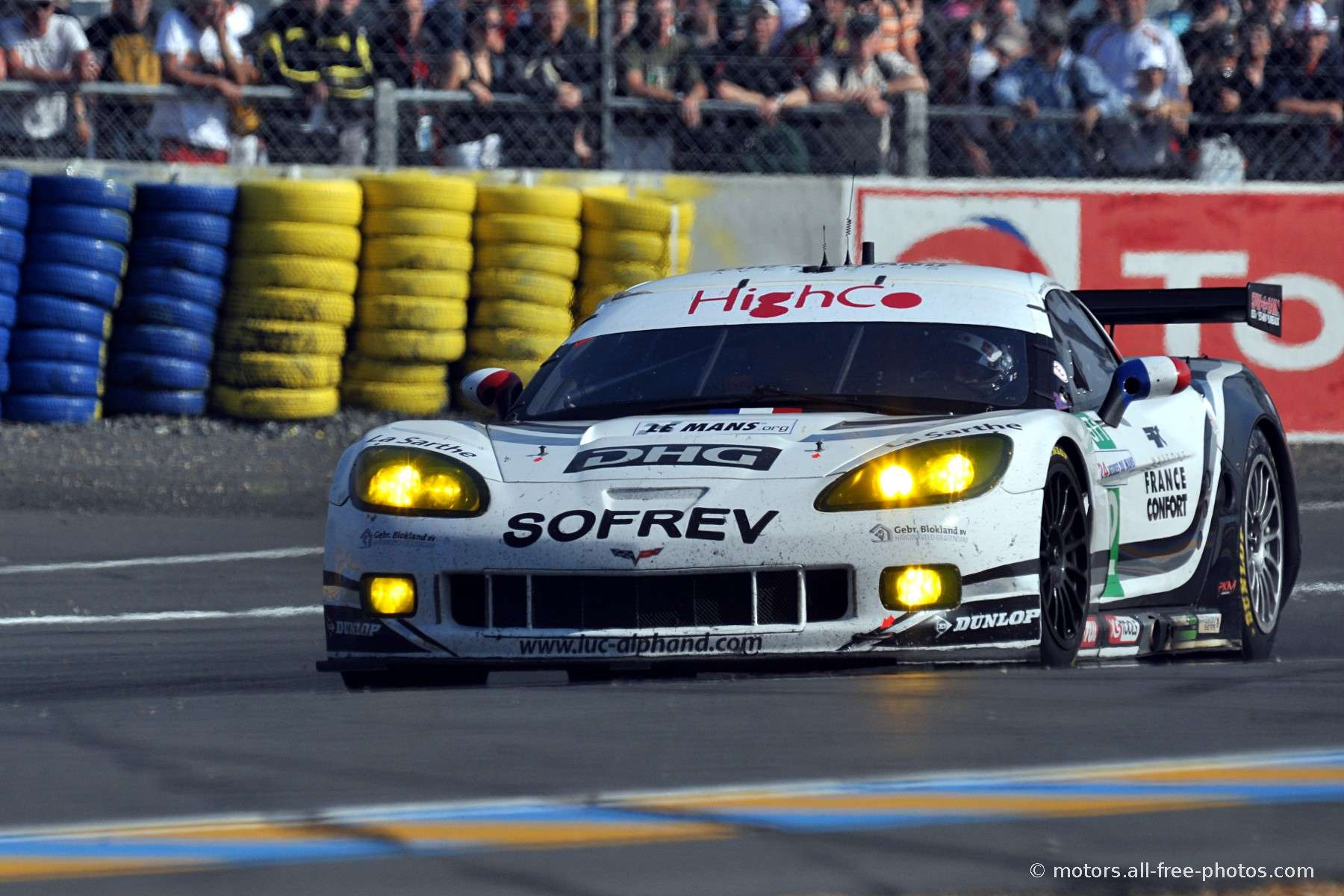 Home Galleries Motorsport Le Mans 2010   GT1 Corvette C6 R   Team Luc