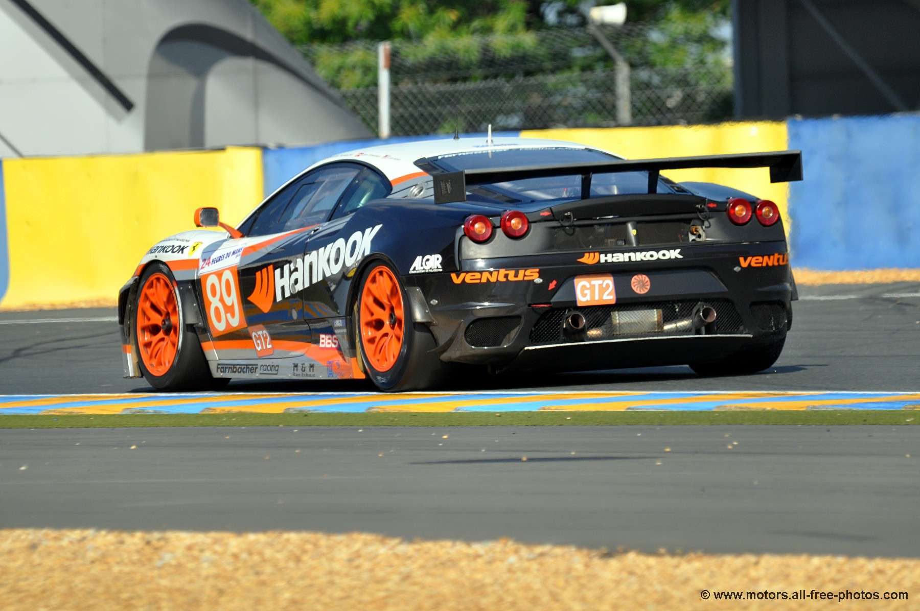Ferrari 430 GTC - Team Hankook Farnbacher