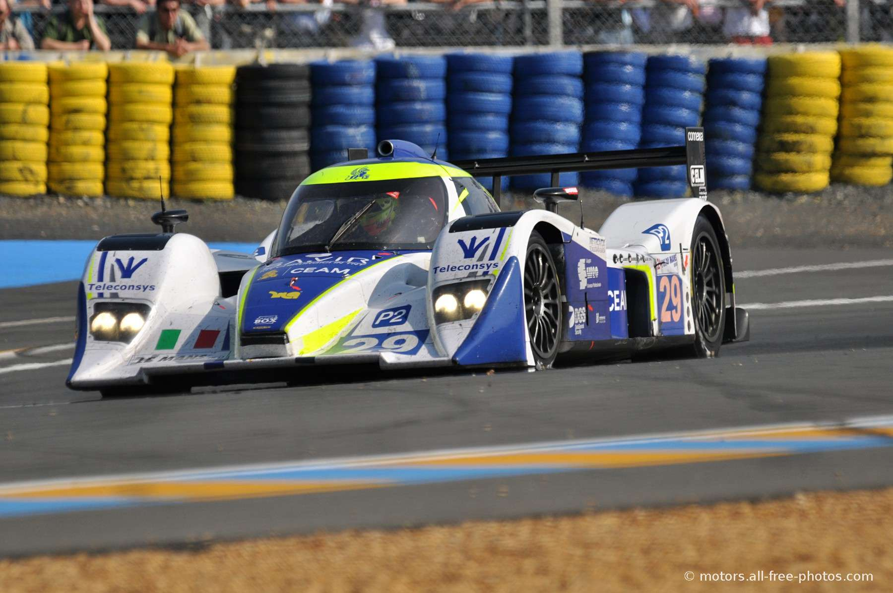 Lola B08/80 Judd - Team Racing Box SRL