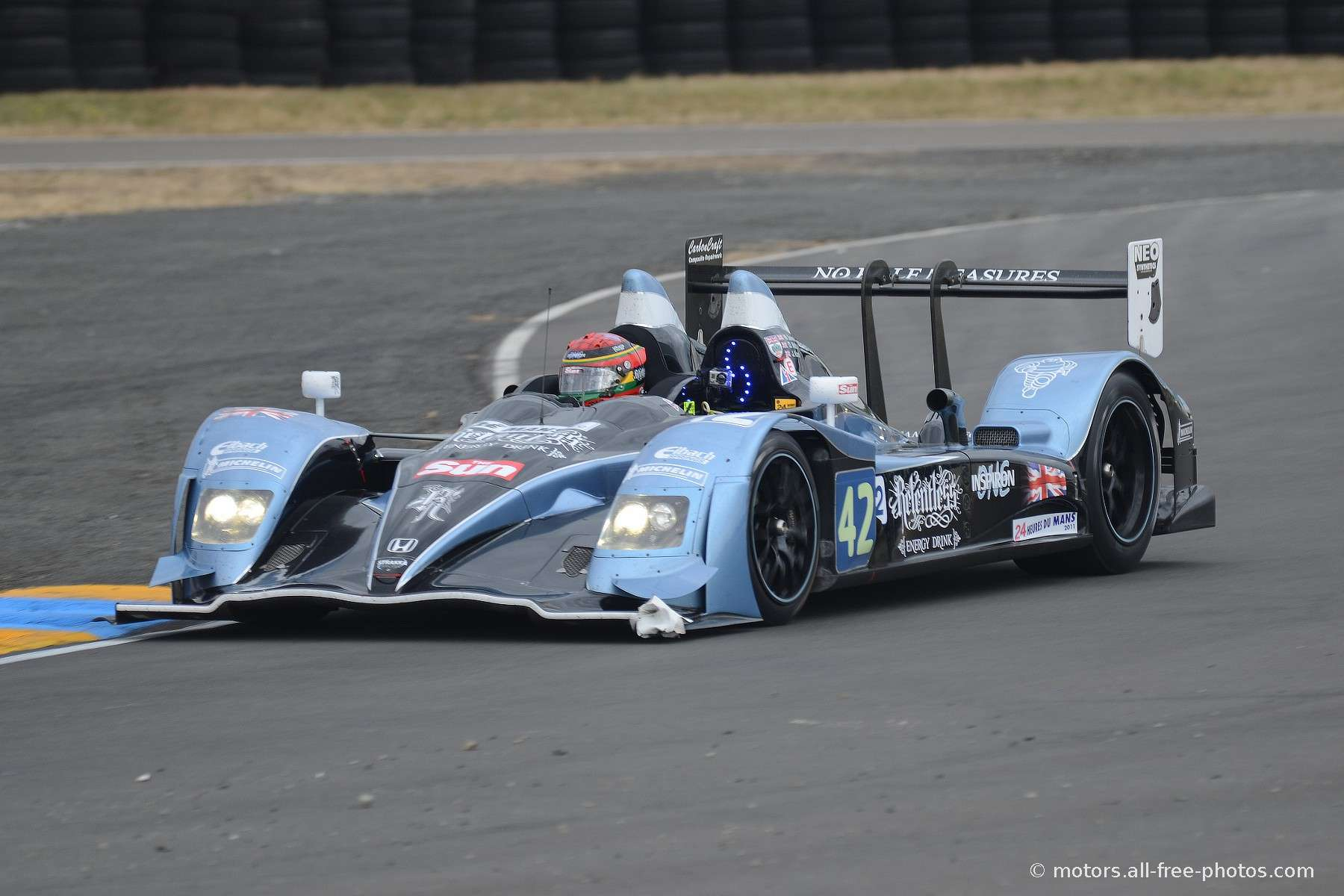 HPD ARX-01d - Team Strakka Racing