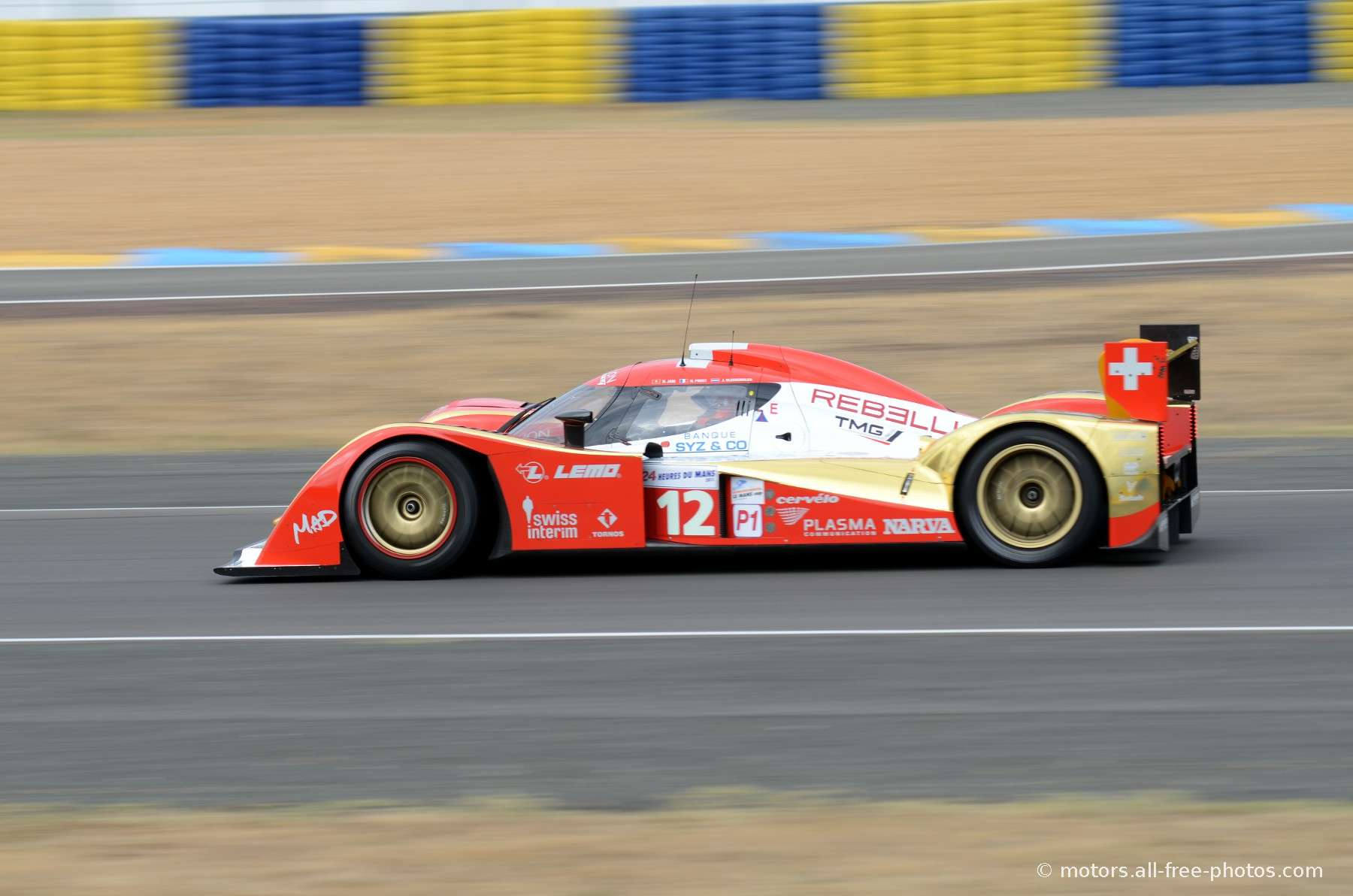 Lola B10/60 Coupé-Toyota - Team Rebellion Racing