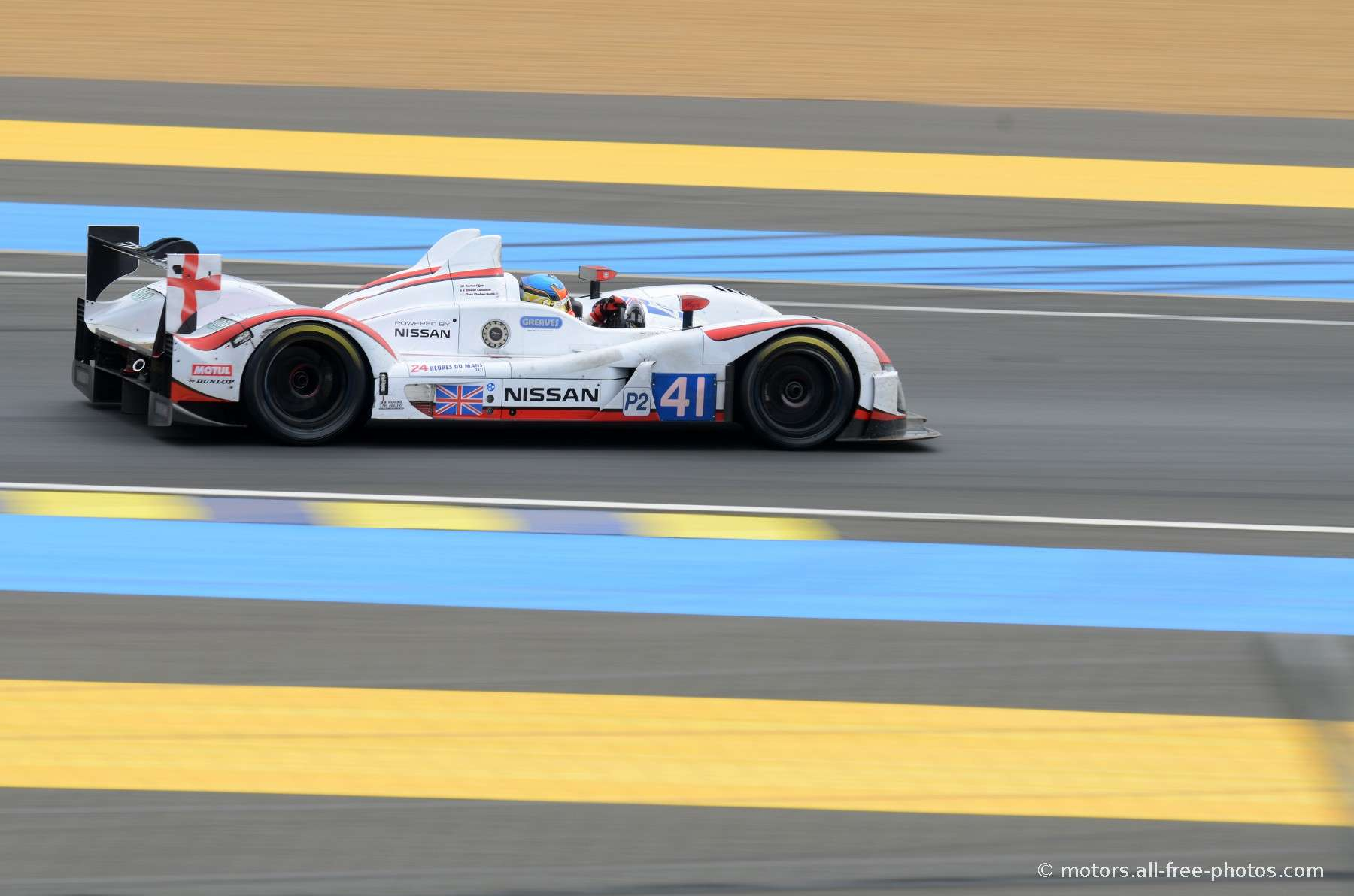 Zytek Z11SN-Nissan - Team Greaves Motorsport