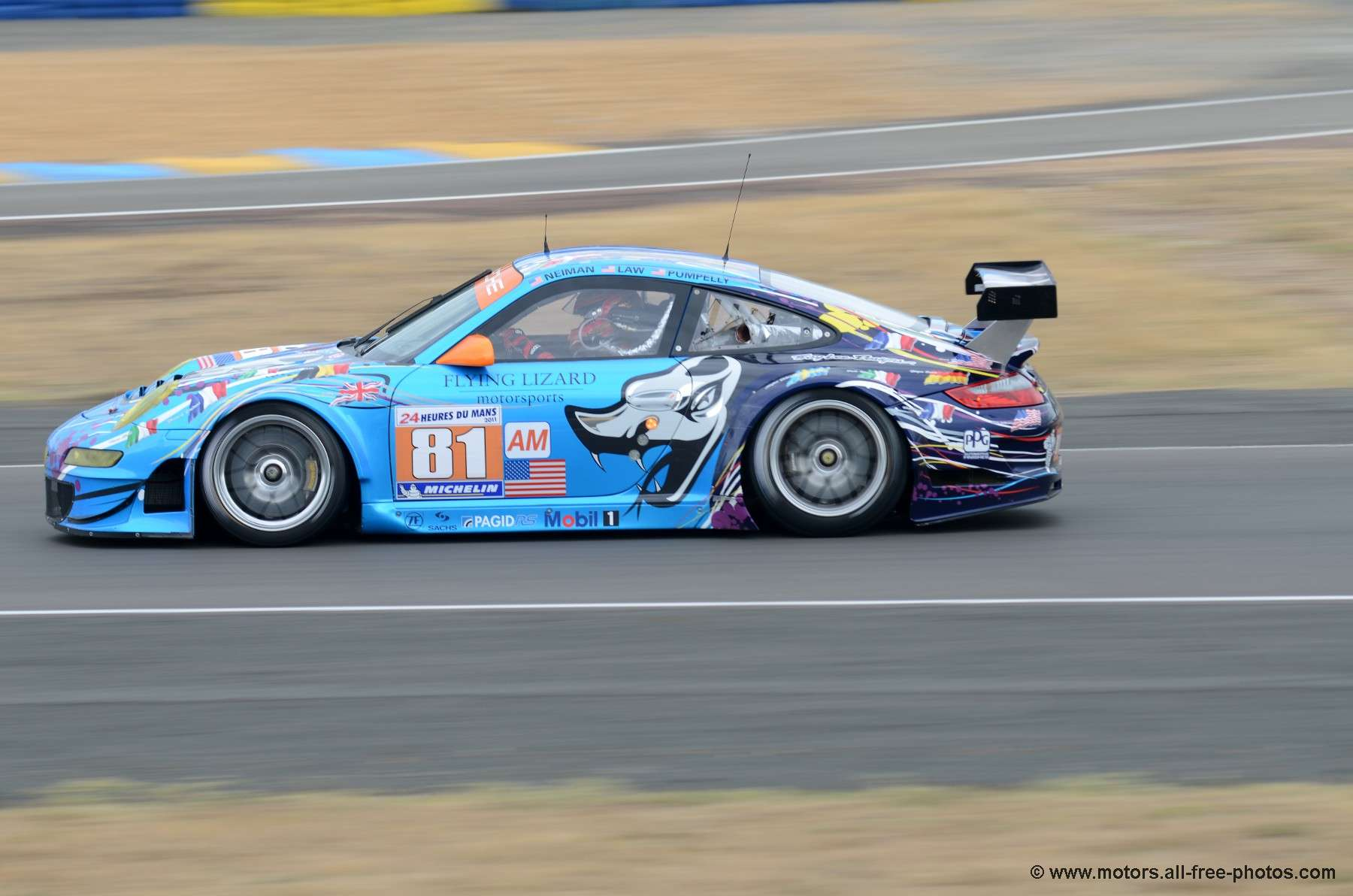 Porsche 997 GT3 RSR - Team Flying Lizard Motorsport