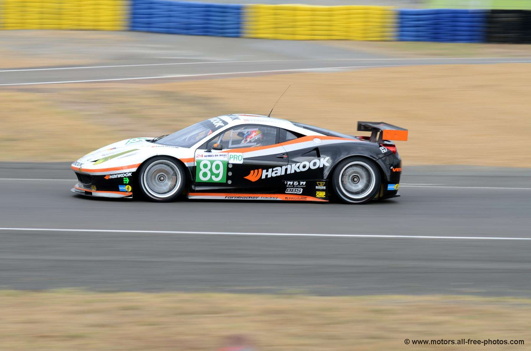 Ferrari 458 Italia - Team Hankook-Farnbacher