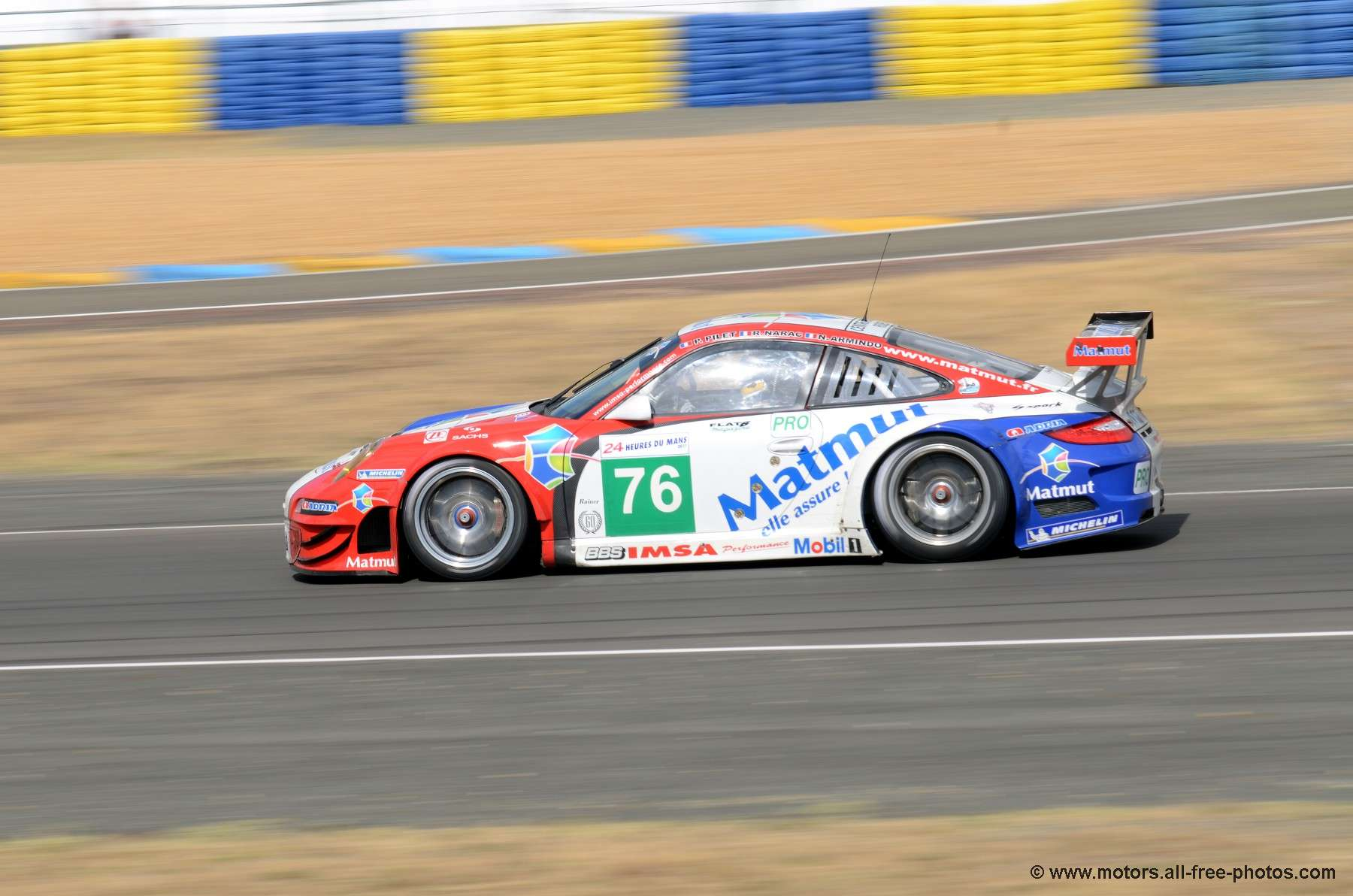 Porsche 997 GT3 RSR - Team IMSA Performance Matmut