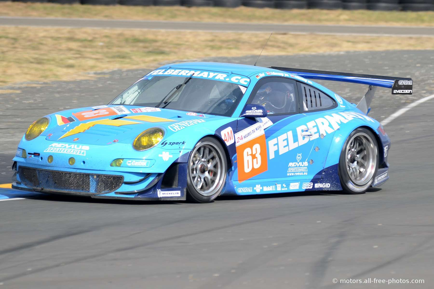 Porsche 997 GT3 RSR - Team Proton Competition