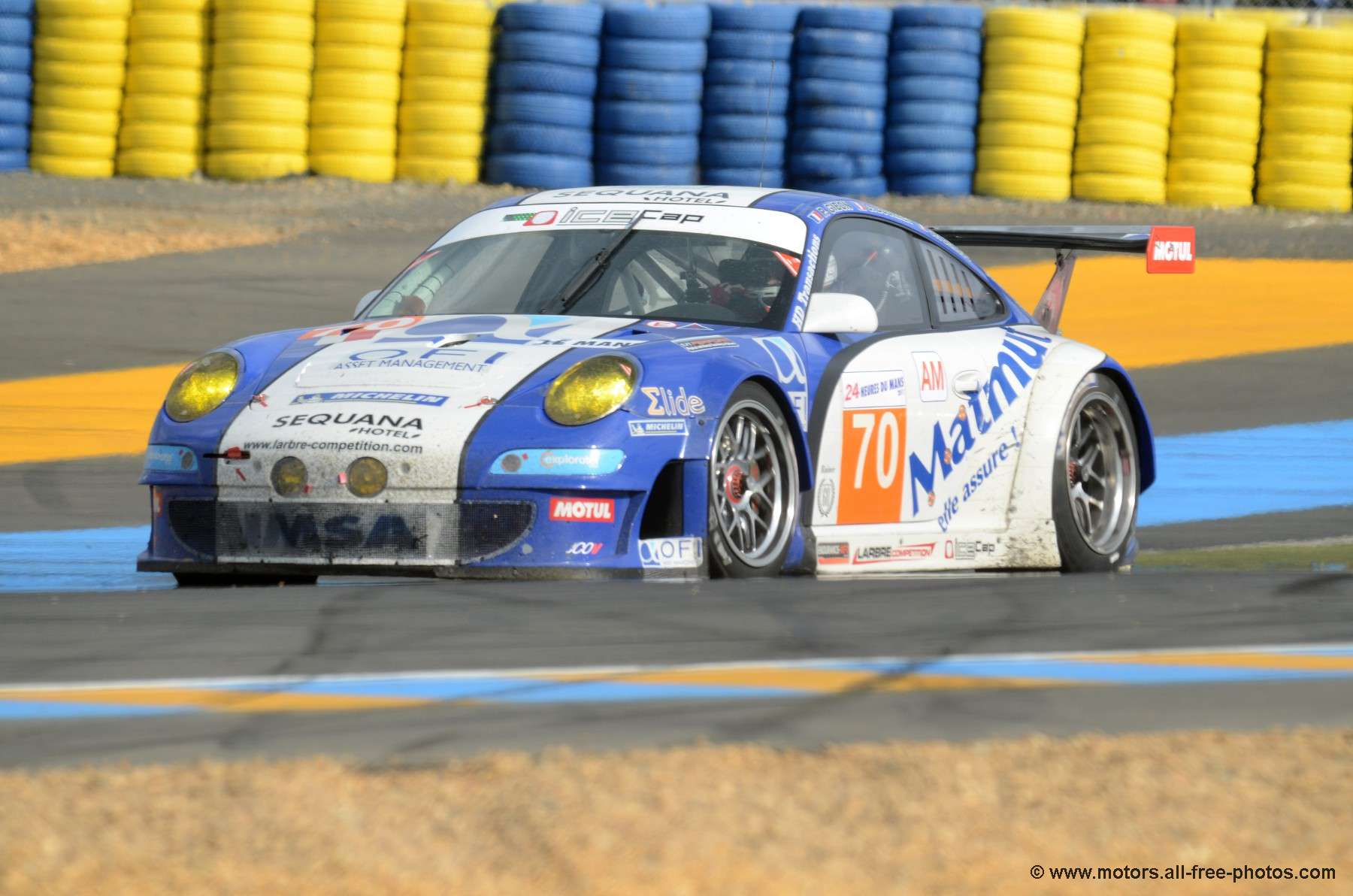 Porsche 997 GT3 RSR - Team Larbre Competition