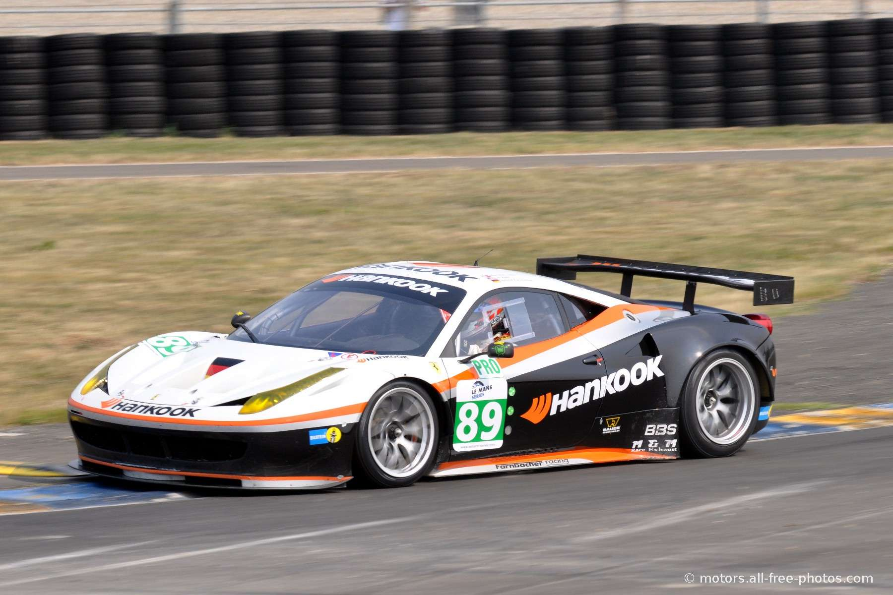Ferrari 458 Italia - Team Hankook Farnbacher