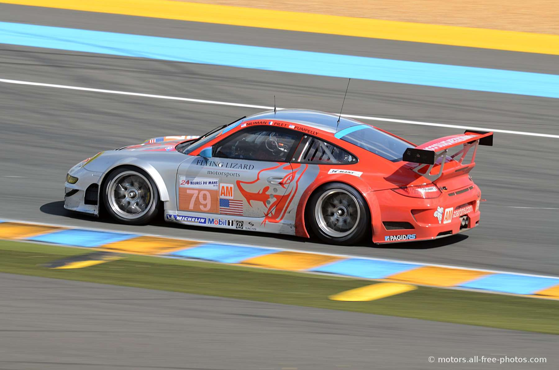 Porsche 911 RSR - Team Flying Lizard Motorsport