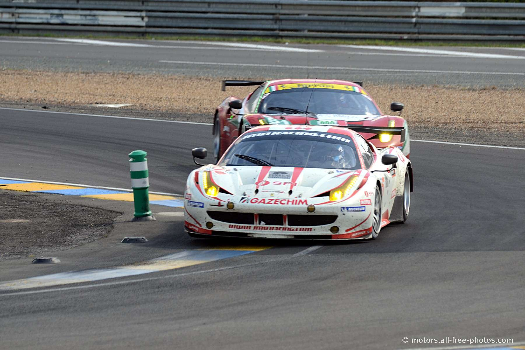 Ferrari 458 Italia - Team JMB Racing