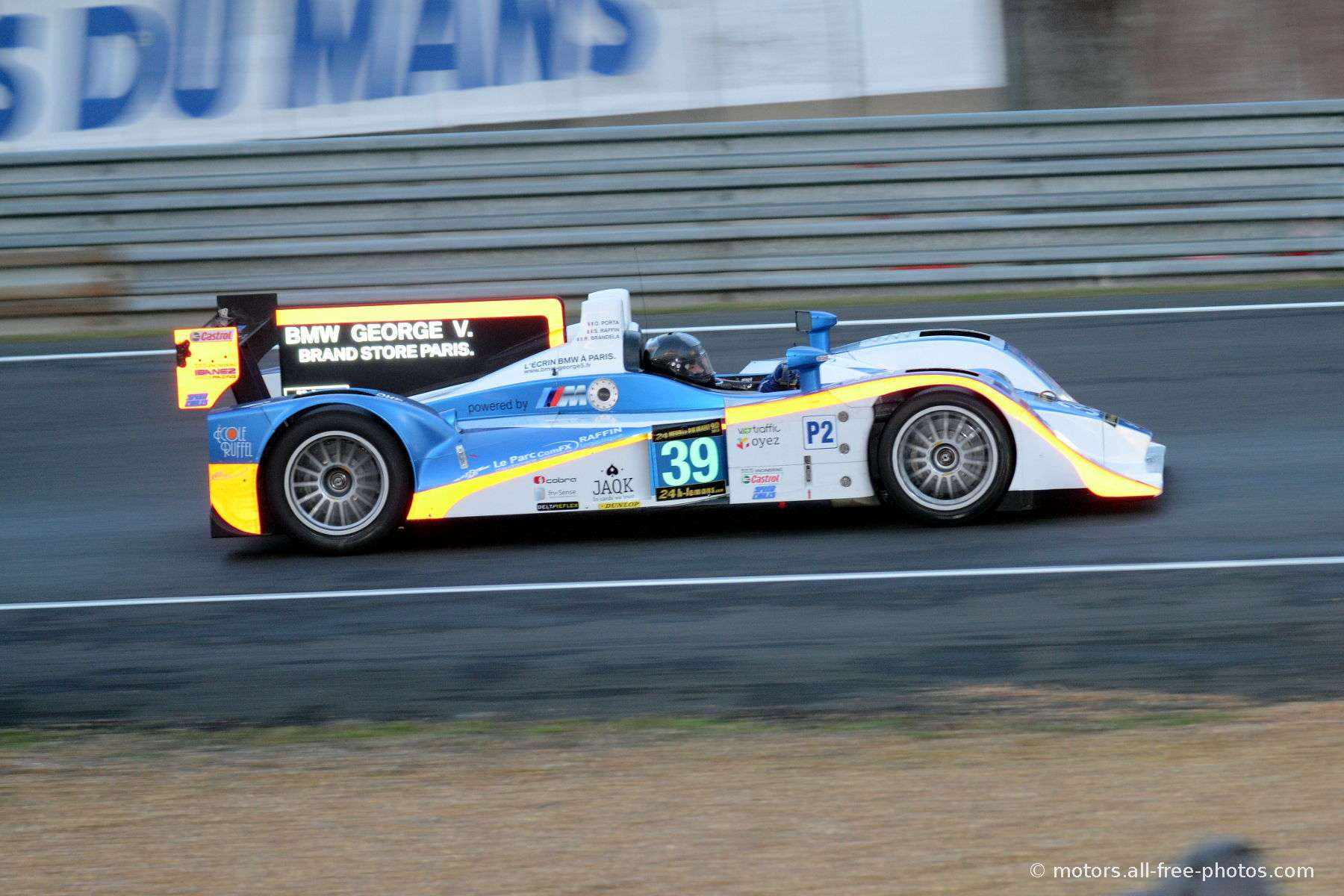 Lola B11/40-Judd - Team DKR Engineering