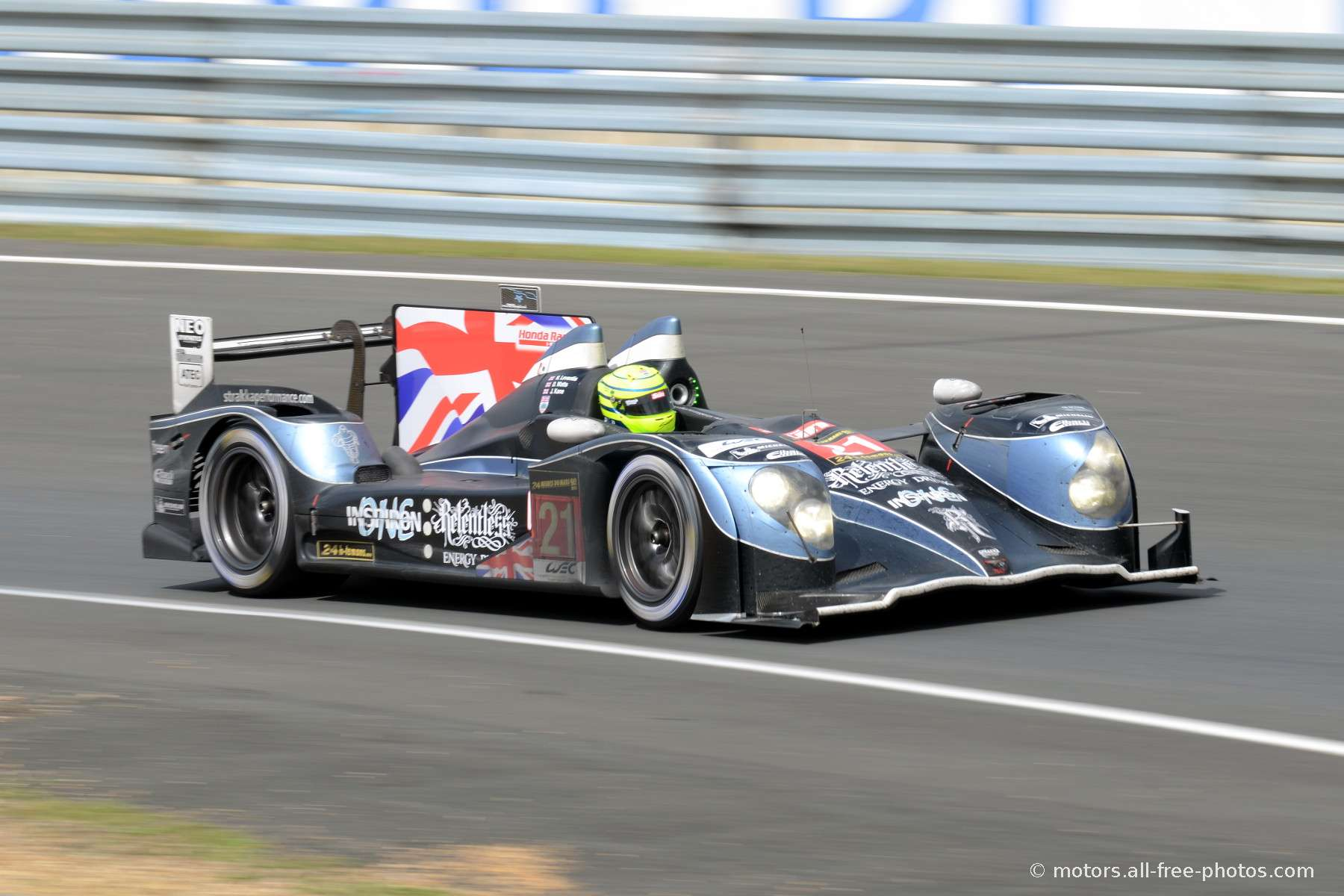 HPD ARX 03c-Honda - Team Strakka Racing