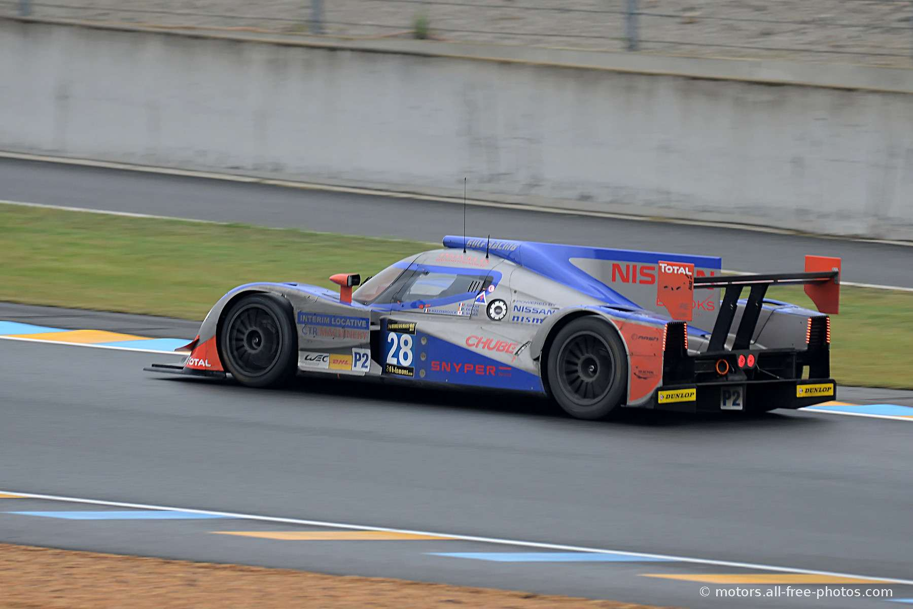 Lola B12/80 Coupé-Nissan - Team Gulf Racing Middle East