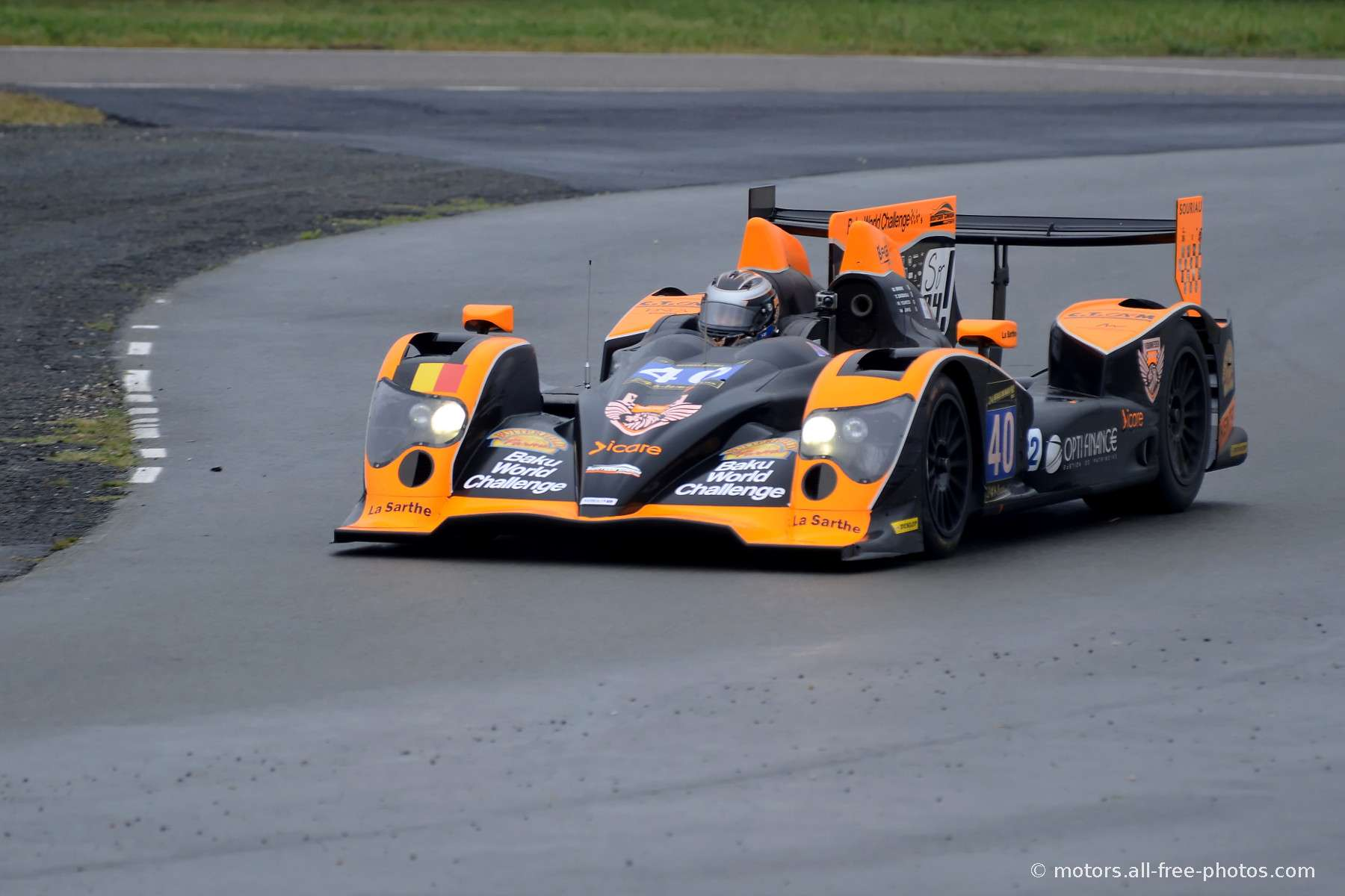 Oreca 03-Nissan - Team Boutsen Ginion Racing