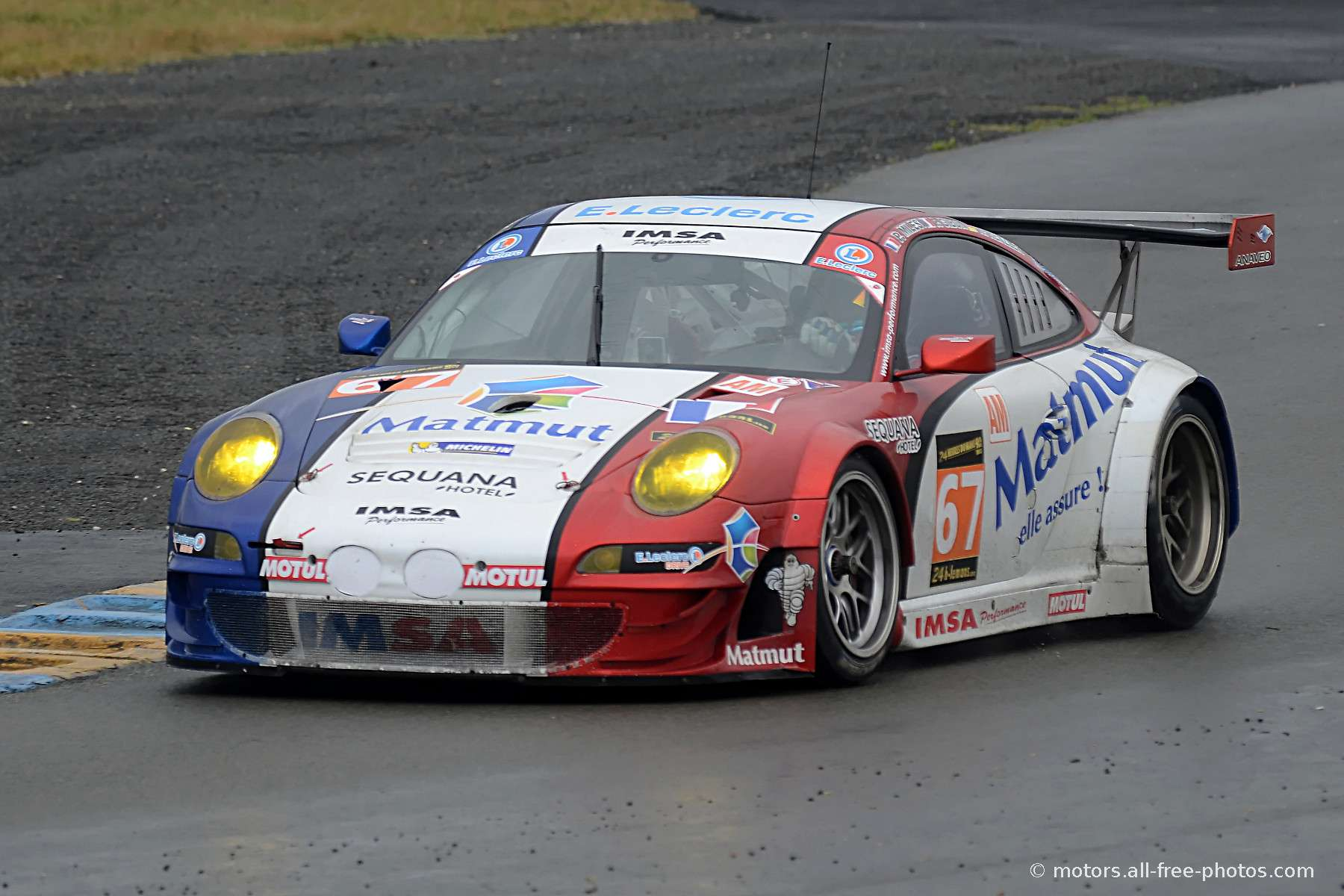Porsche 911 GT3 RSR - Team IMSA Performance Matmut