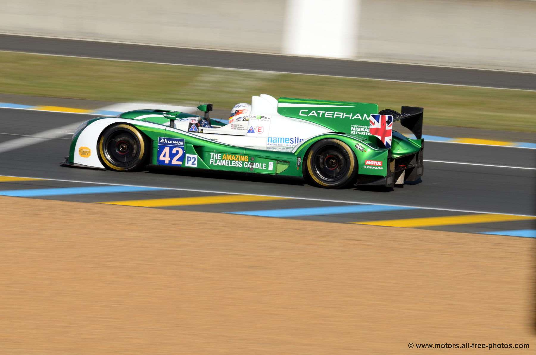 Zytec Z11SN-Nissan - Team Caterham Racing