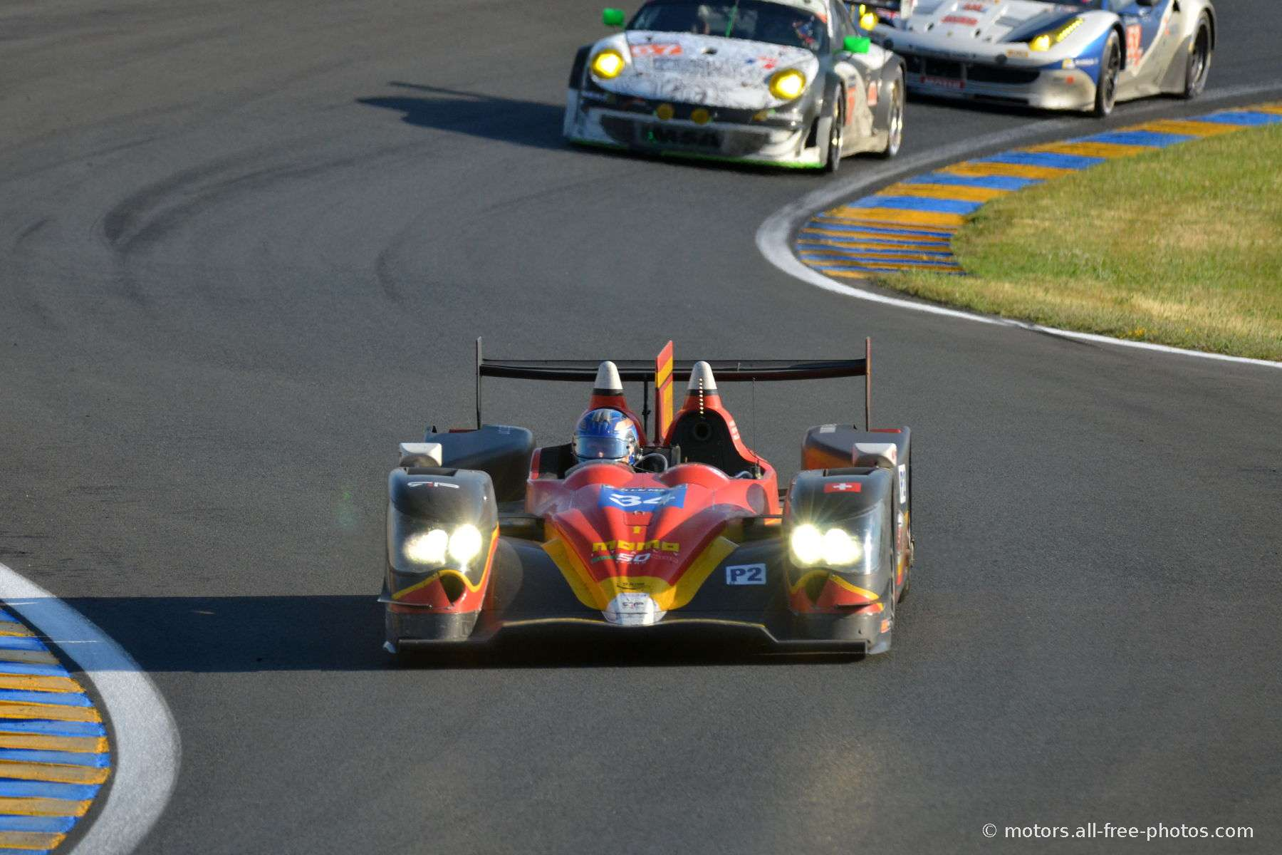 Oreca 03R-Judd - Team Race Performance