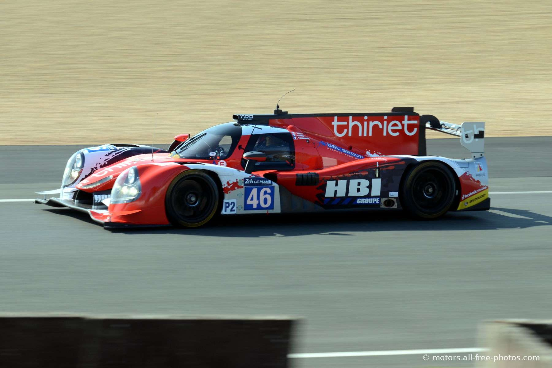 Ligier JS P2 - Nissan - Team Thiriet by TDS Racing