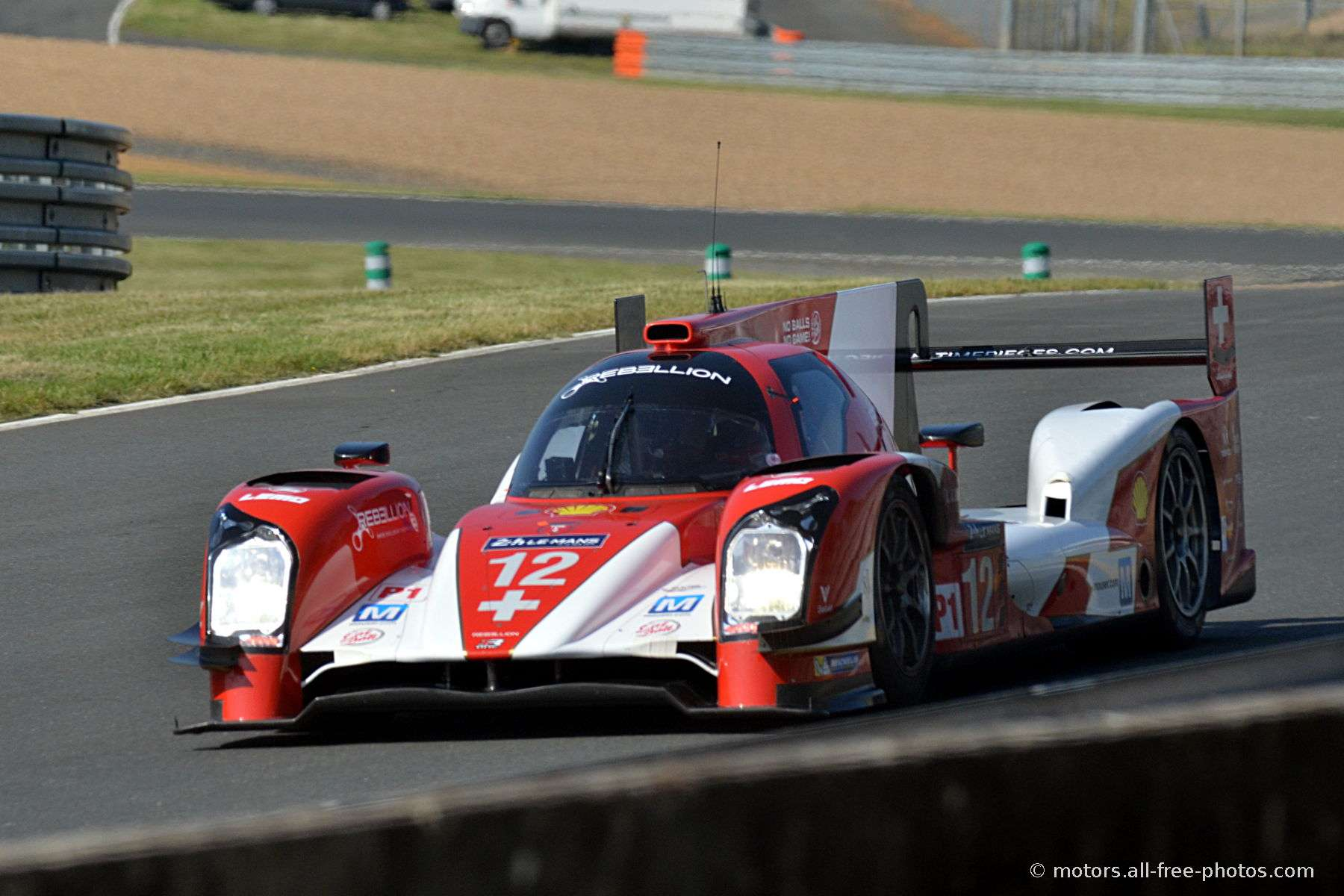 Rebellion-Toyota R-One - Team Rebellion Racing