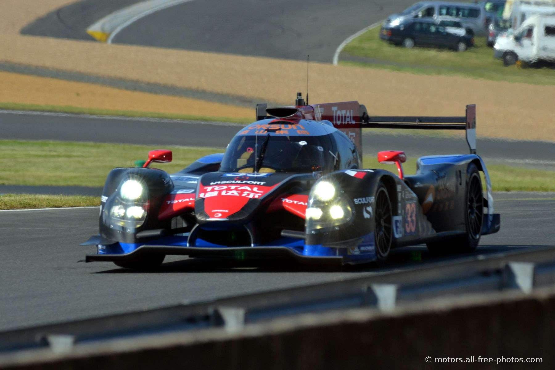 Ligier JS P2 - HPD - Team OAK Racing Asia