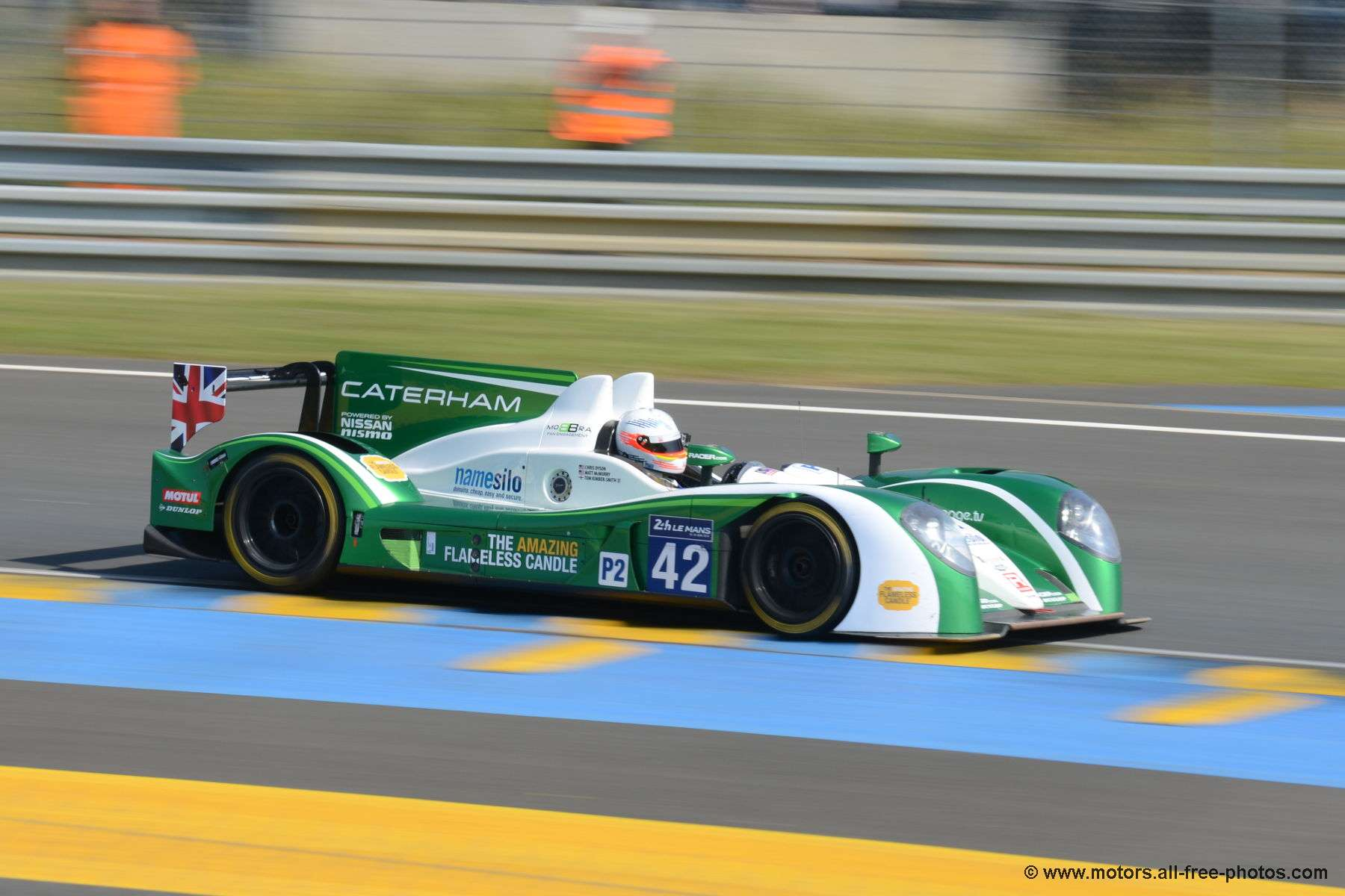 Zytec Z11SN - Nissan - Team Caterham Racing