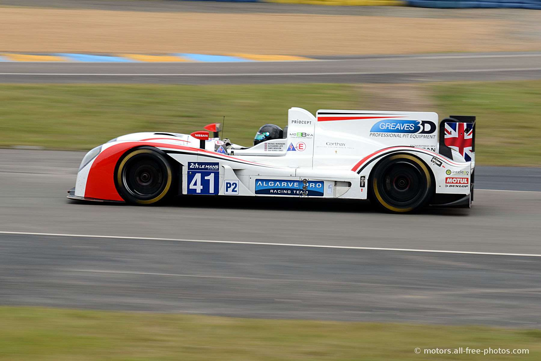 Zytec Z11SN - Nissan - Team Greaves Motorsport