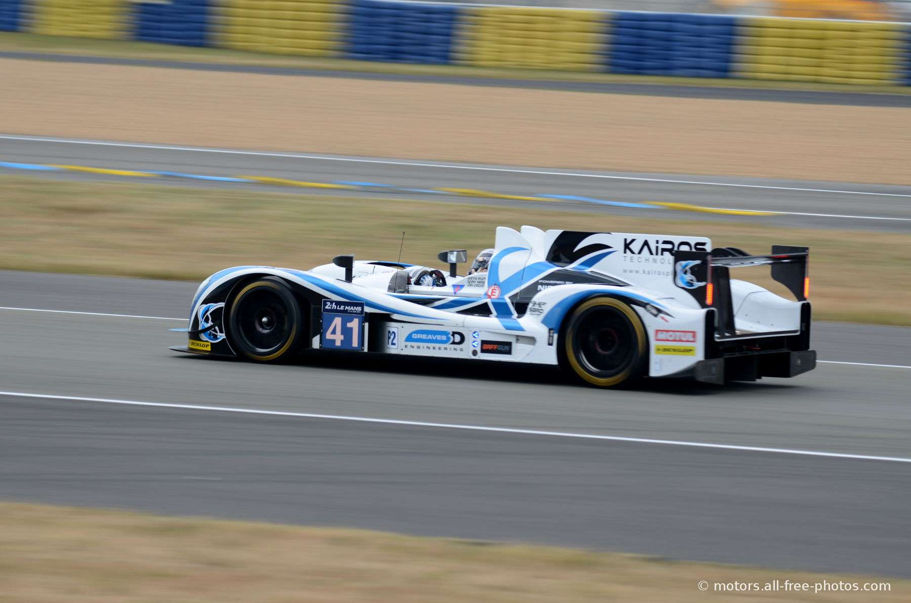 Gibson 01 5S-Nissan - Team Greaves Motorsport