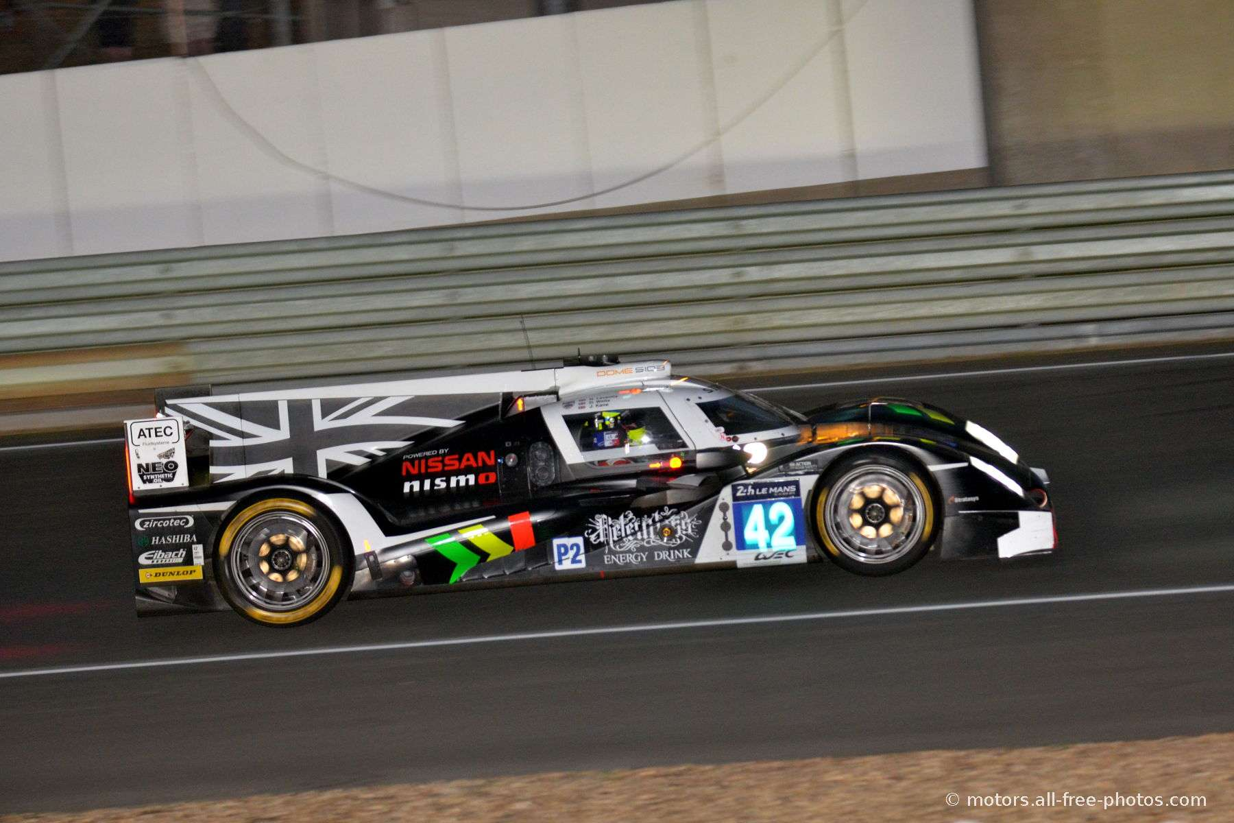 Dome S103-Nissan - Team Strakka Racing