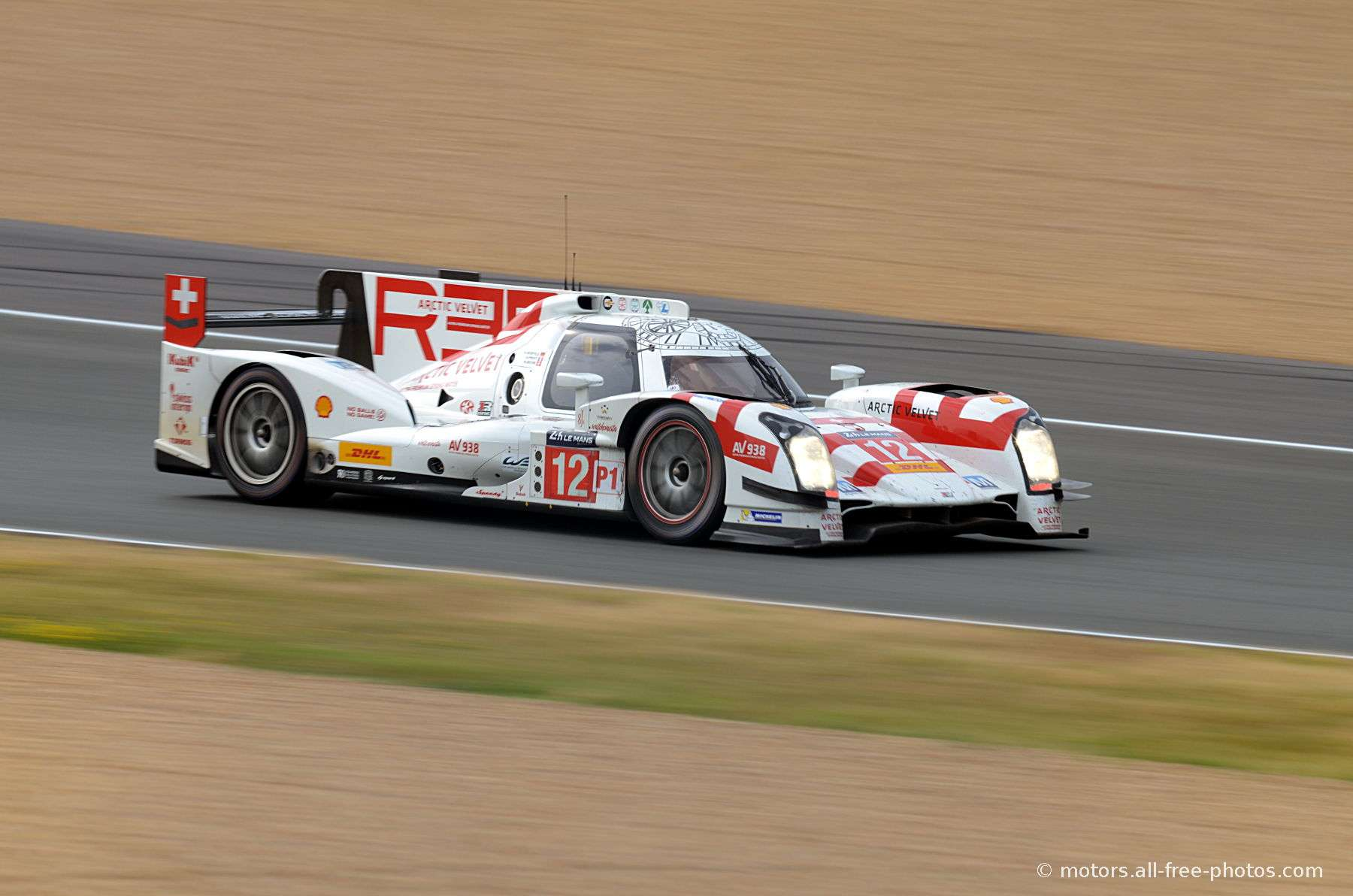 Rebellion R-ONE - AER - Team Rebellion Racing