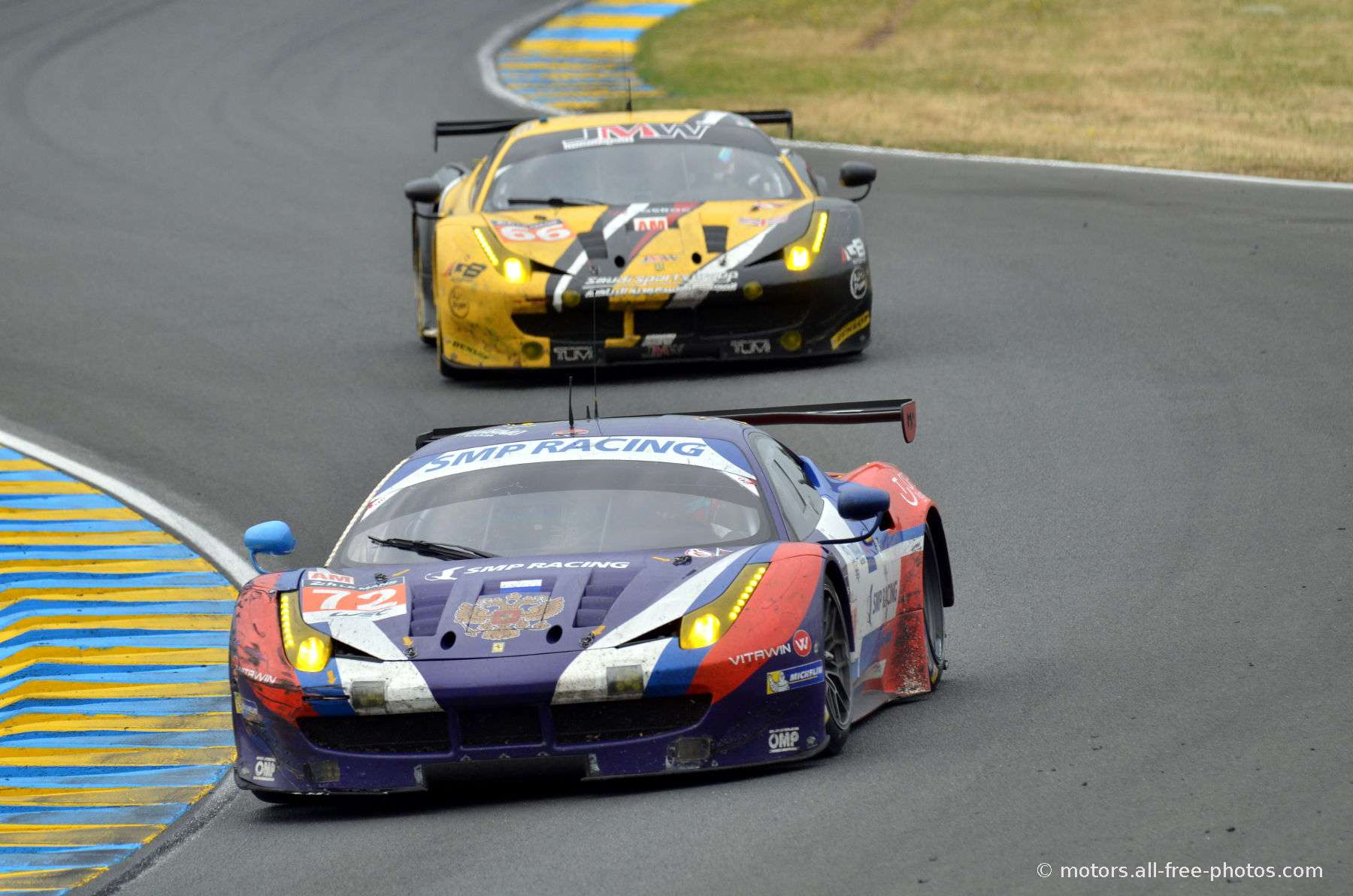 Ferrari F458 Italia - Team SMP Racing