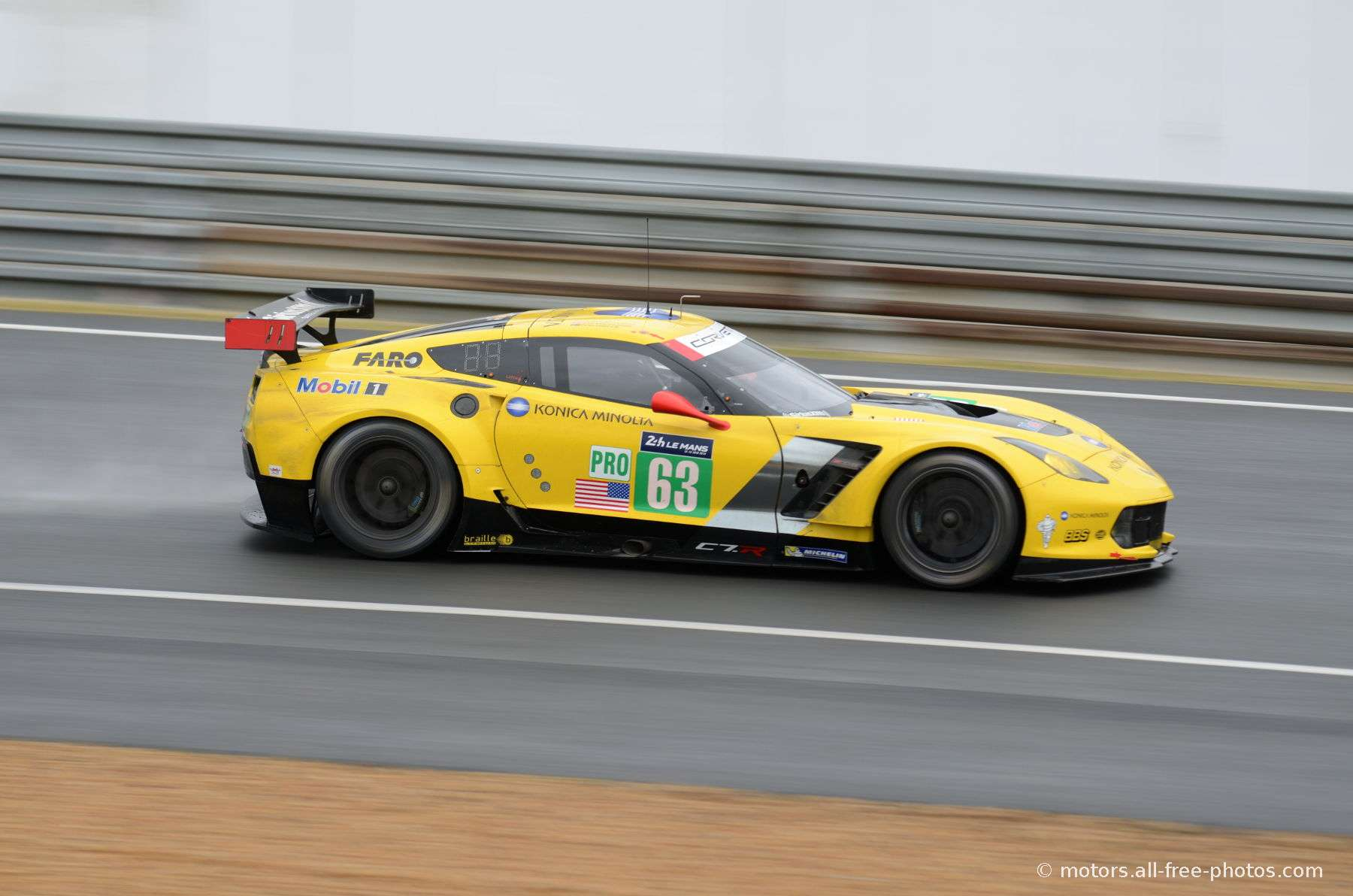 Chevrolet Corvette C7R - Team Corvette Racing - GM