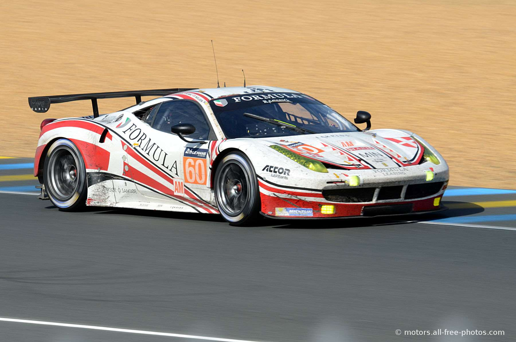 Ferrari 458 Italia - Team Formula Racing