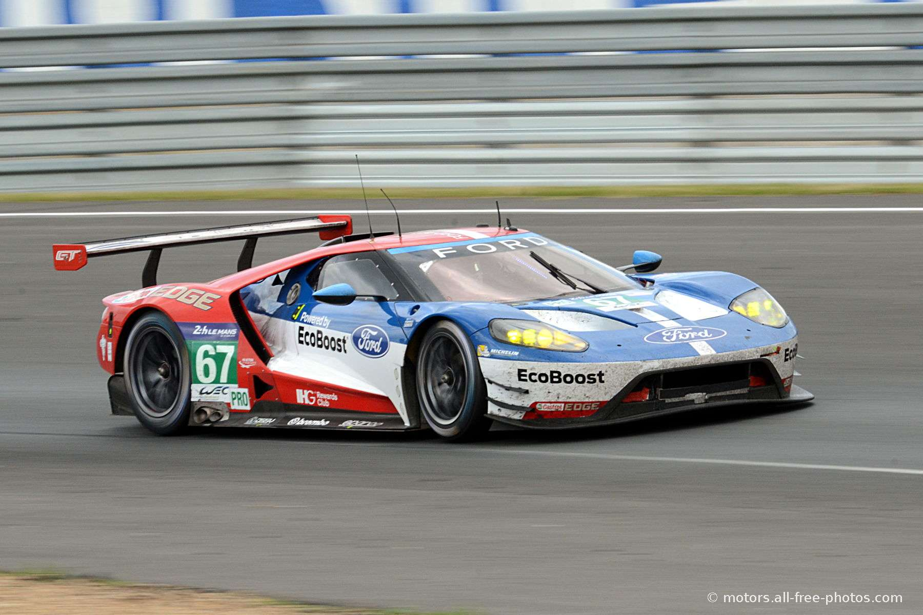Ford Gt Team Ford Chip Ganassi Team Uk
