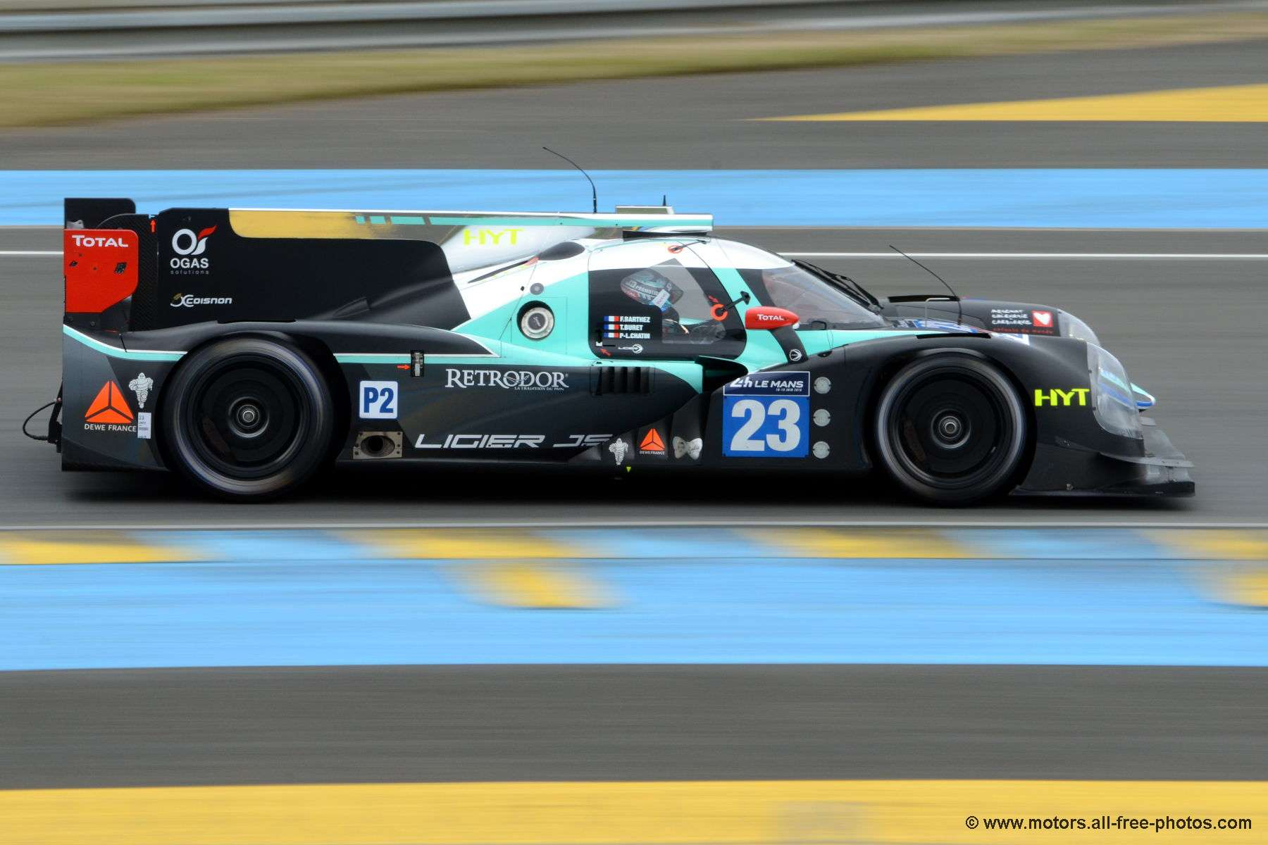 Ligier JS P2-Nissan - Team Panis Barthez Competition
